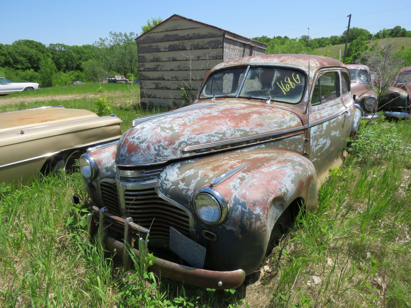 1941 Chevrolet 2dr Sedan for Project or parts - Image 1