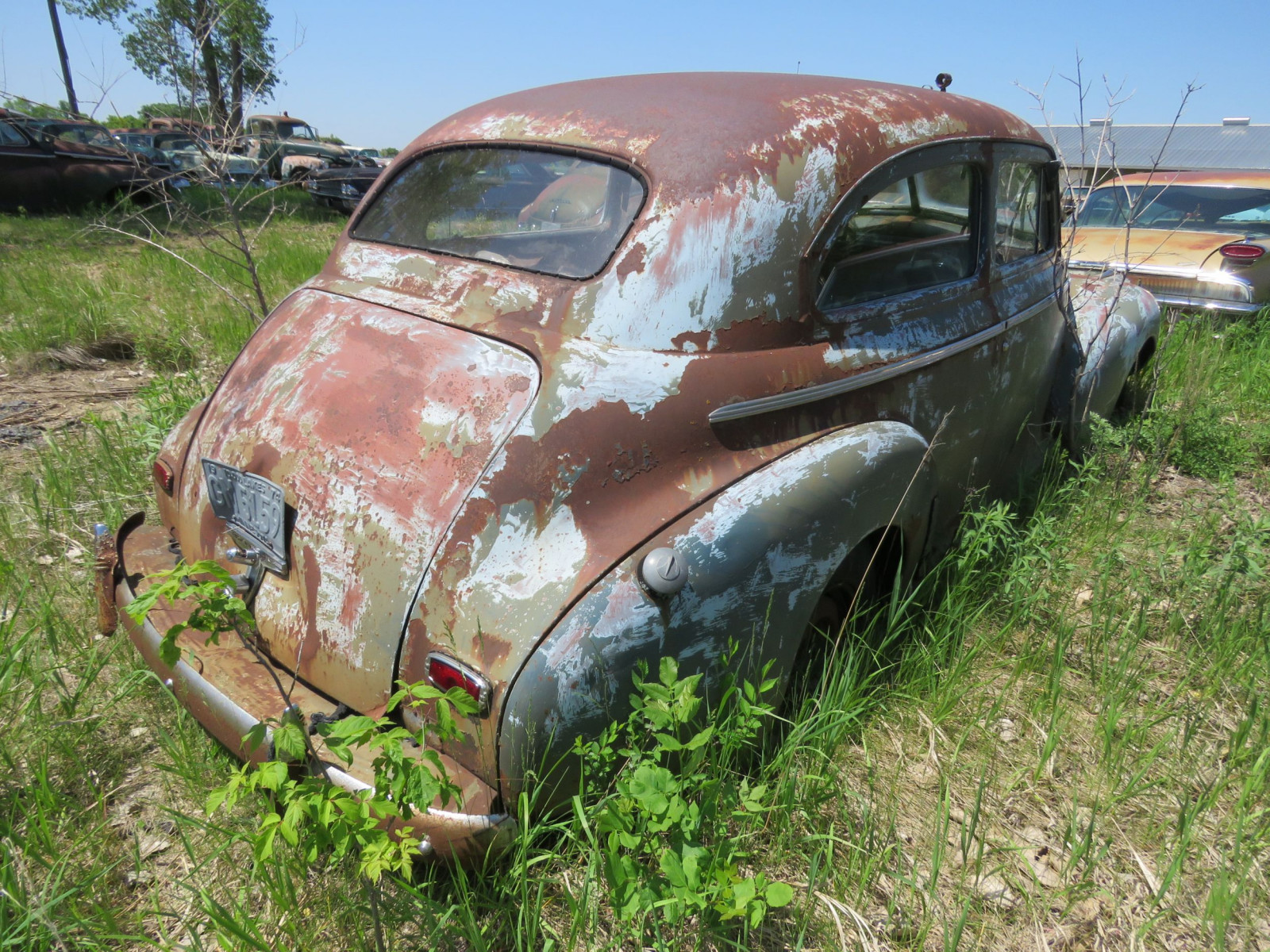 1941 Chevrolet 2dr Sedan for Project or parts - Image 6
