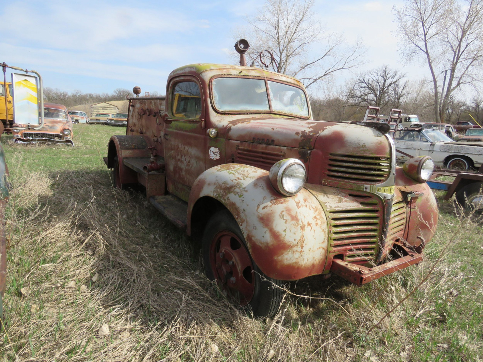 1946 Dodge Firetruck Project - Image 3
