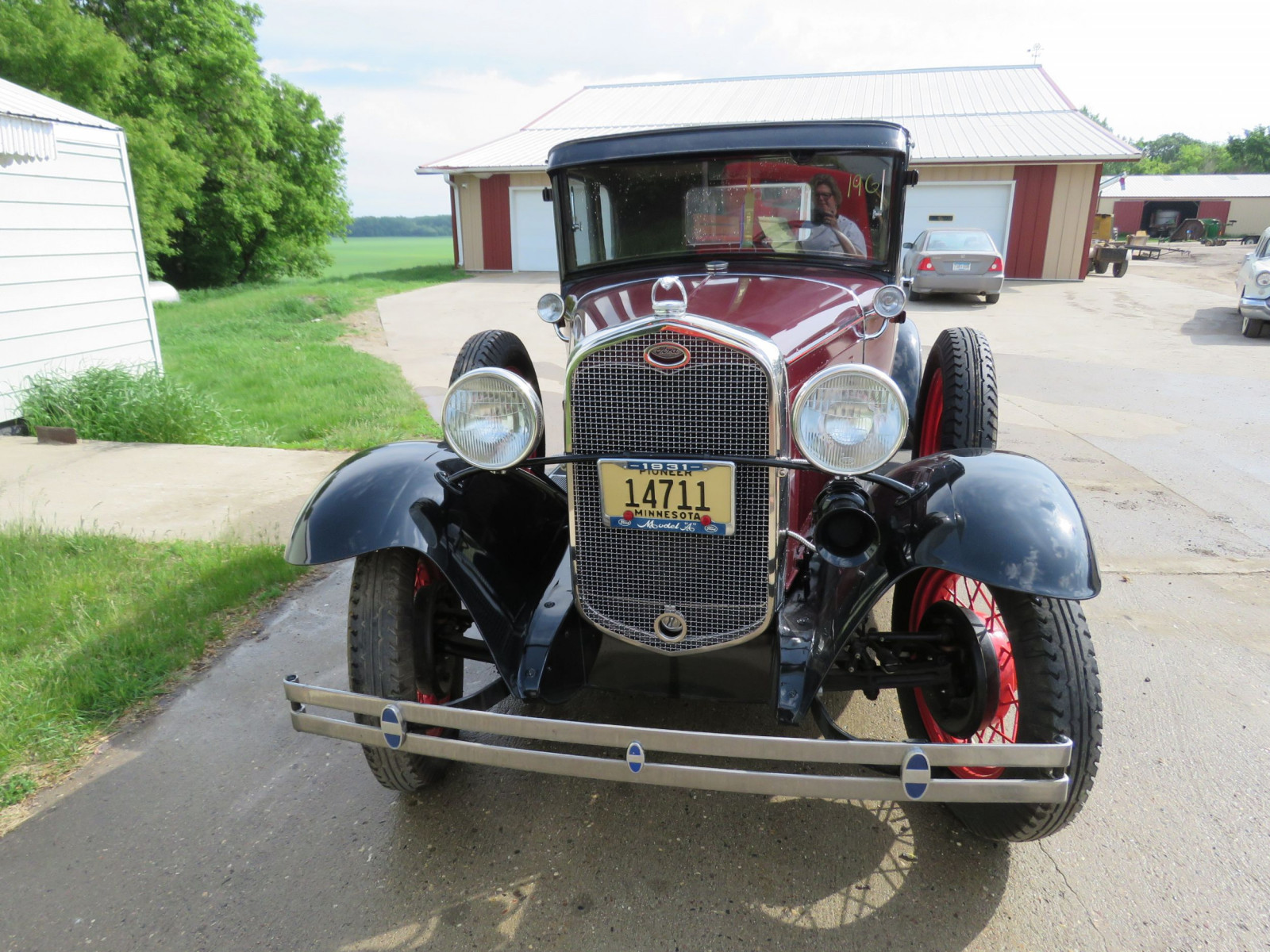 1931 Ford Model A 5 Window Rumble Seat Coupe - Image 2