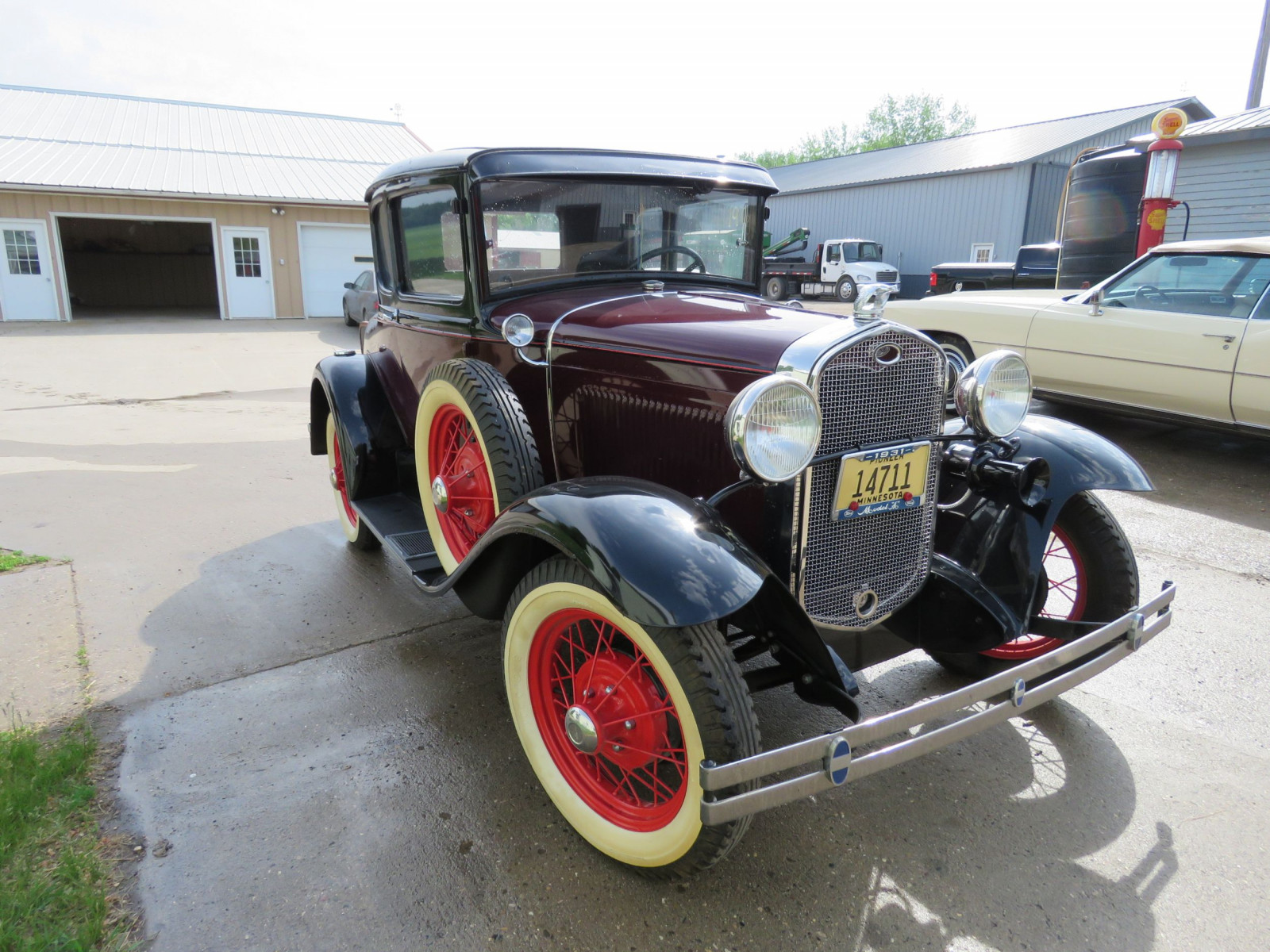 1931 Ford Model A 5 Window Rumble Seat Coupe - Image 3