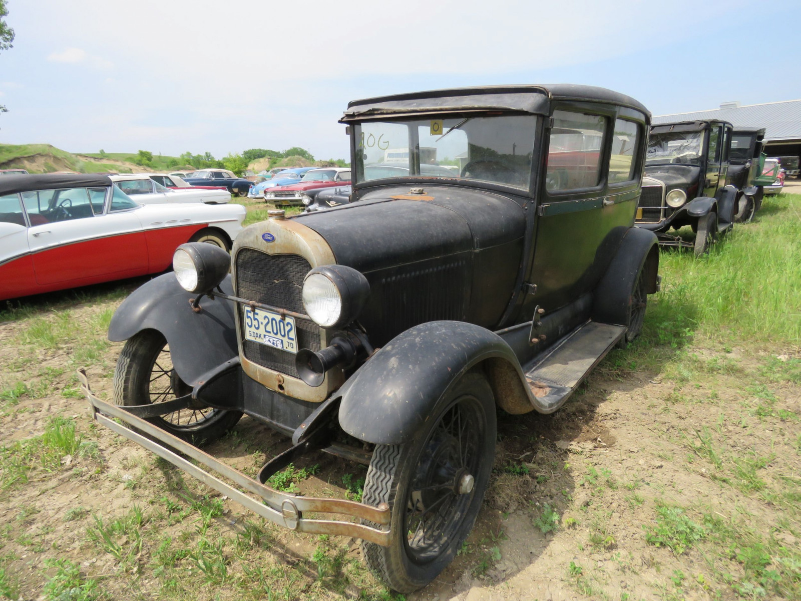 1929 Ford Model A 4dr Sedan - Image 3