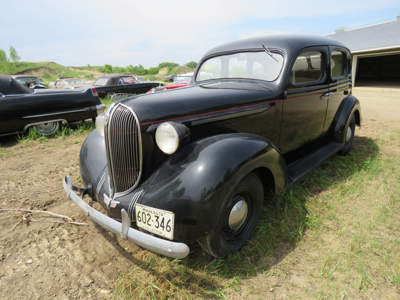 1938 Plymouth 4dr Suicide Sedan 415-11254 - Image 3