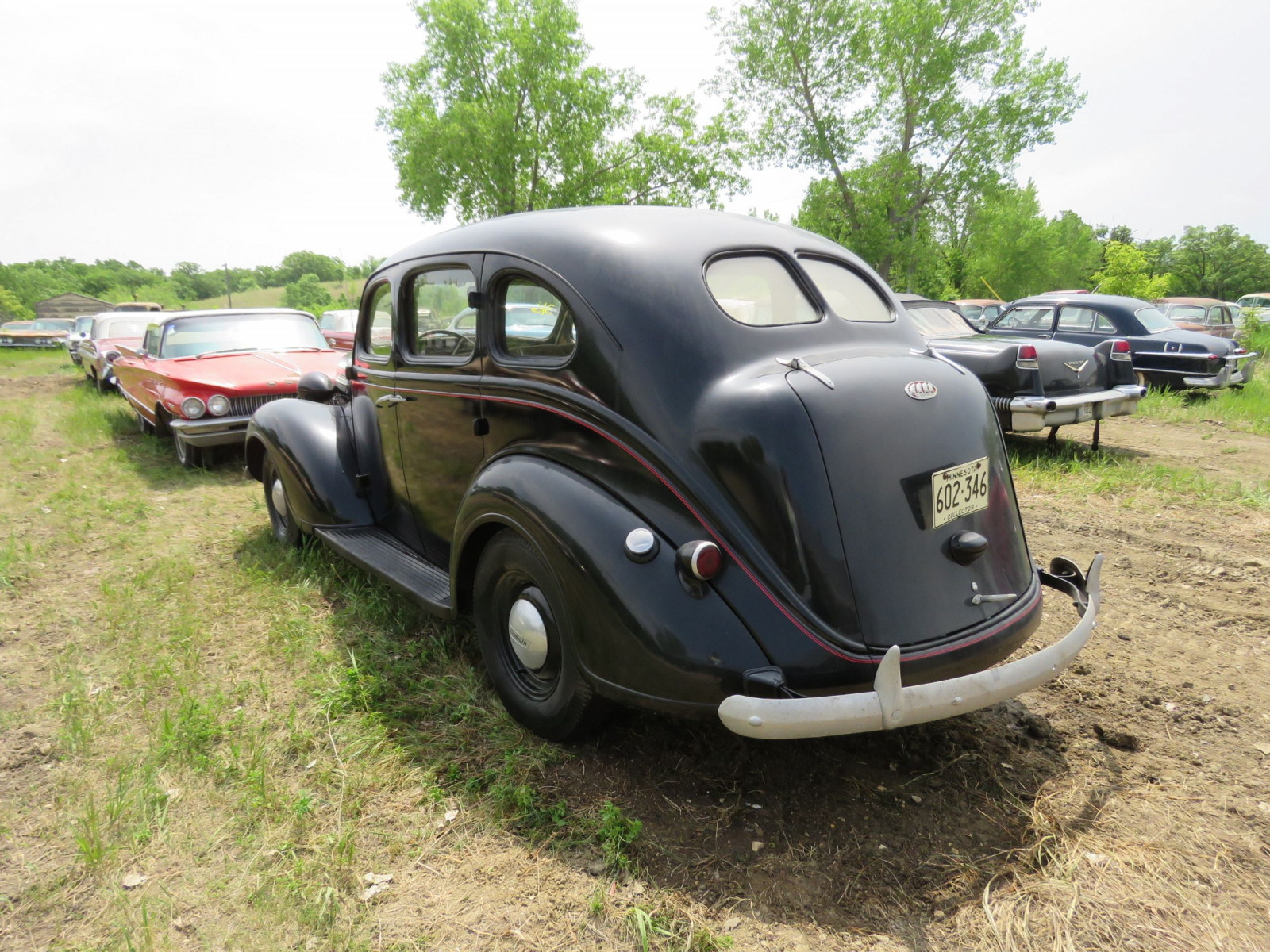 1938 Plymouth 4dr Suicide Sedan 415-11254 - Image 4