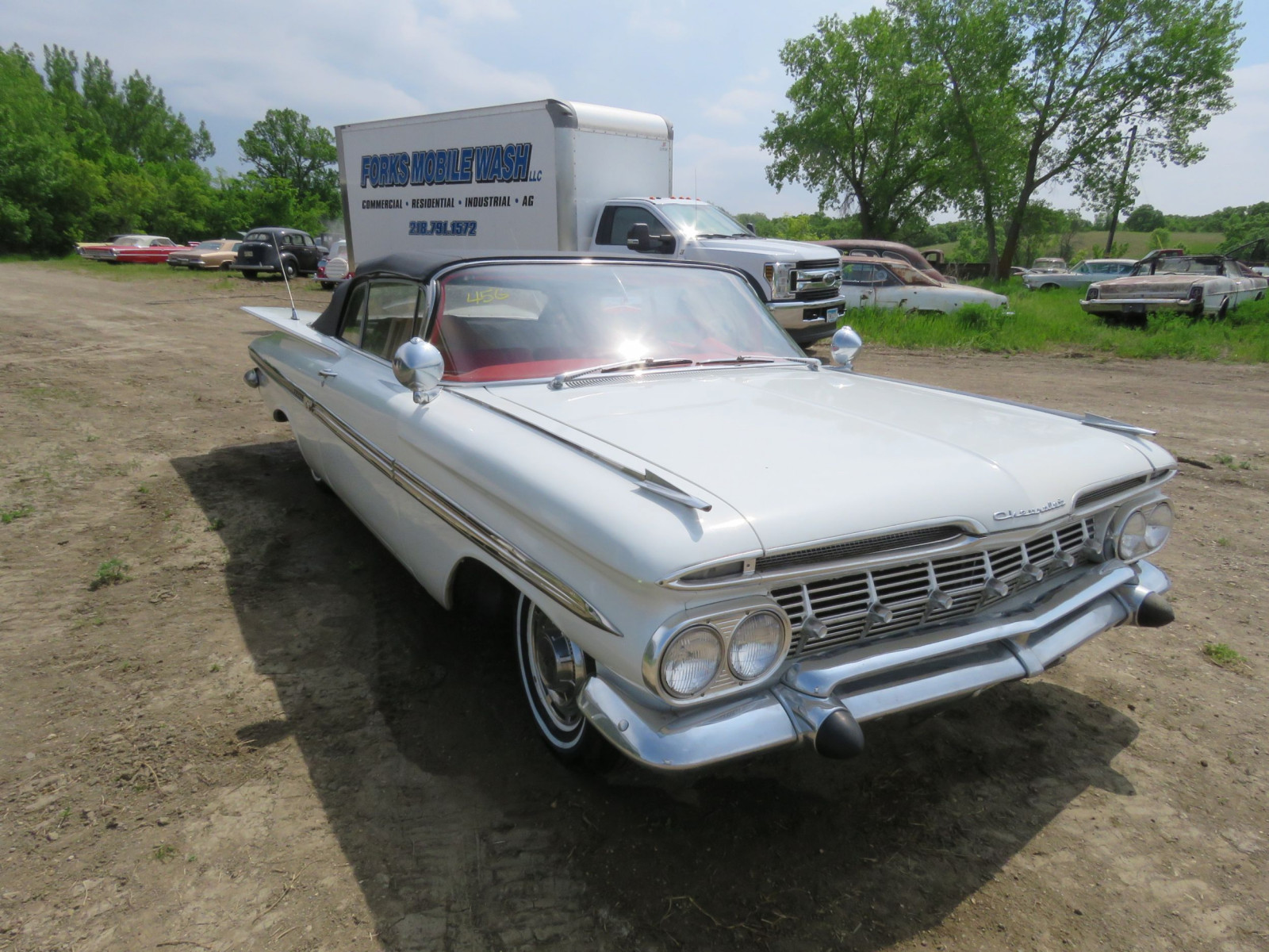 Lot 45g  U2013 1959 Chevrolet Impala Convertible E59j159100