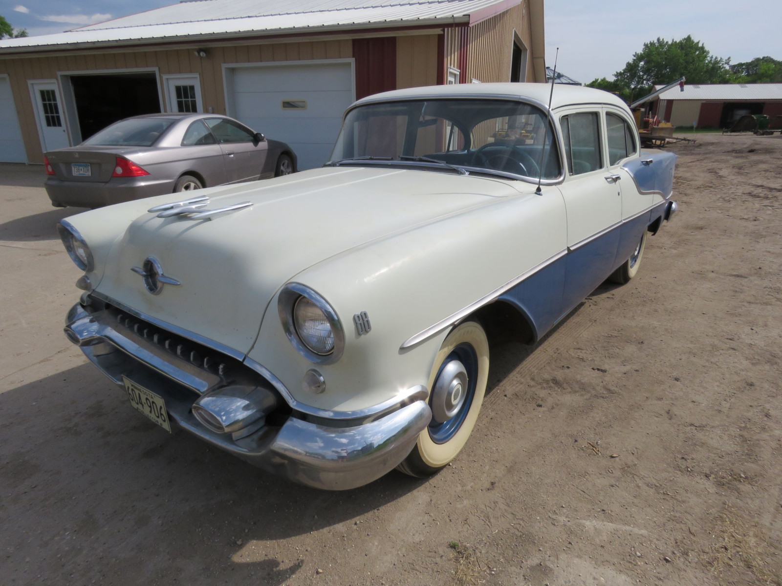 1955 Oldsmobile 88 4dr Sedan 557M72747 - Image 3
