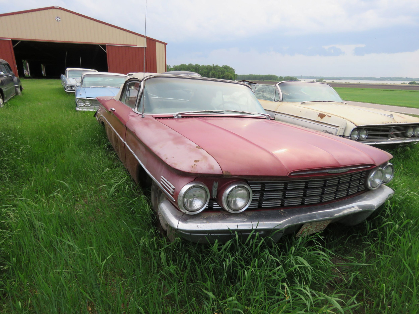 1960 Oldsmobile Dynamic 88 Convertible 607M56199 - Image 3