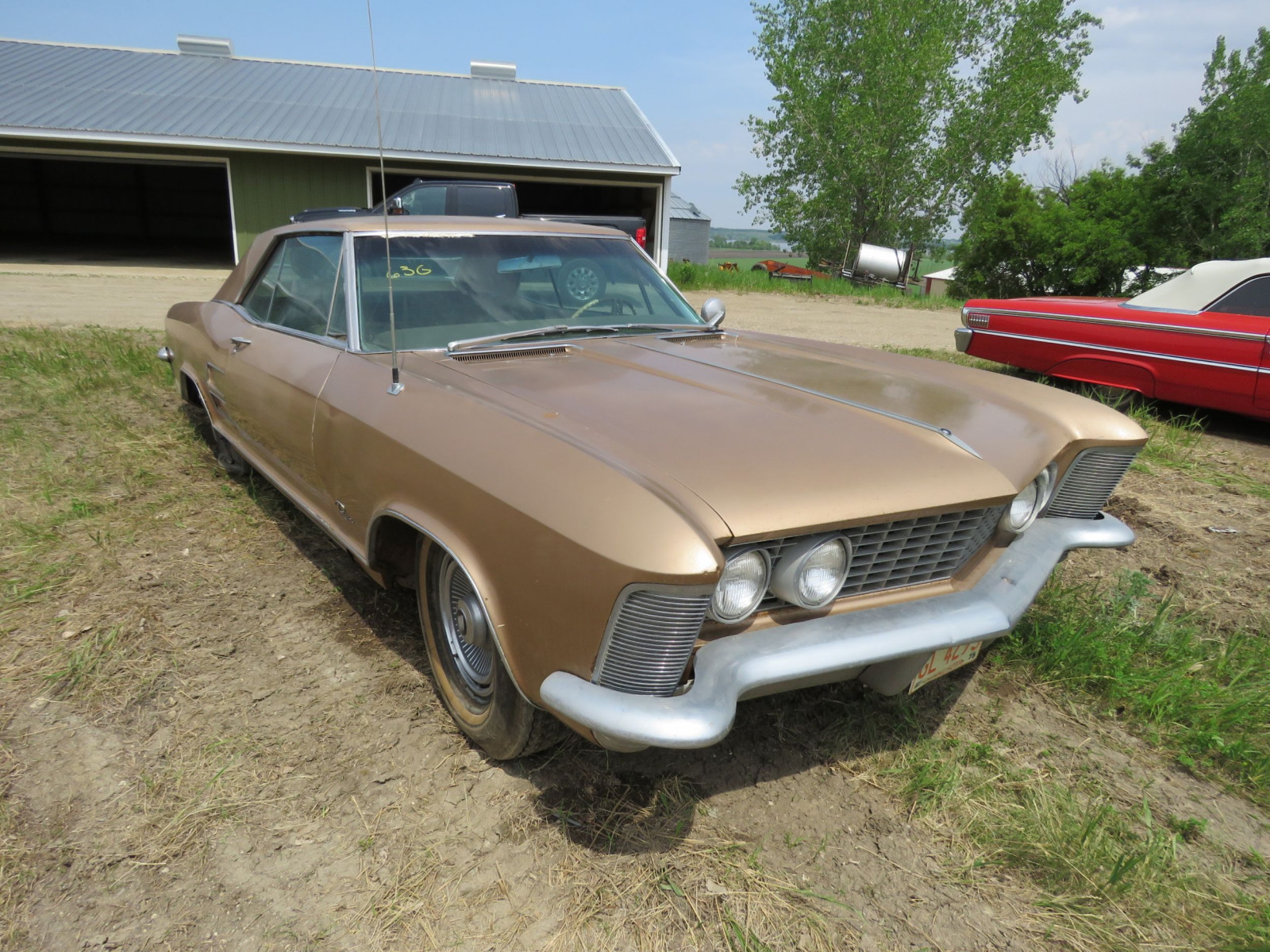 1967 Buick Riviera Coupe 7J1057263 - Image 1