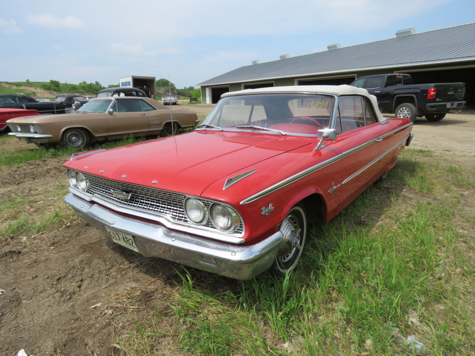 1963 Ford Galaxie 500XL Convertible 3G69Z183135 - Image 1