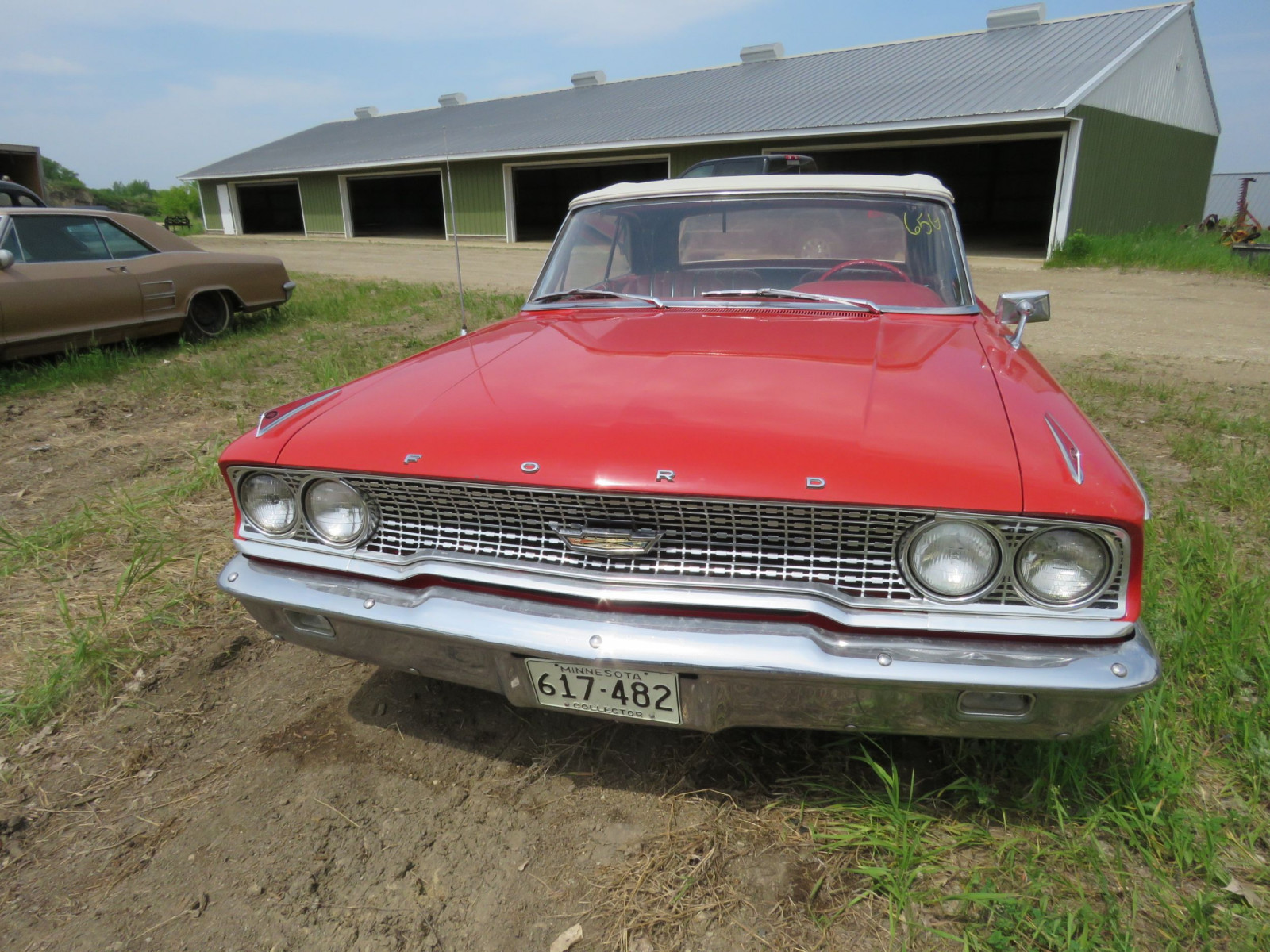 1963 Ford Galaxie 500XL Convertible 3G69Z183135 - Image 2