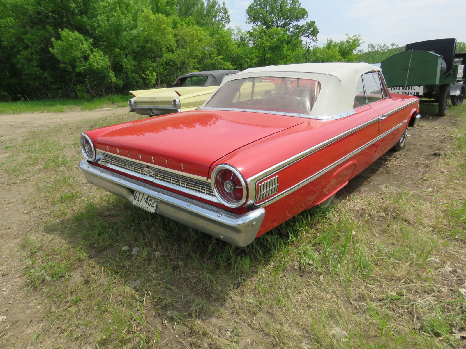 1963 Ford Galaxie 500XL Convertible 3G69Z183135 - Image 5