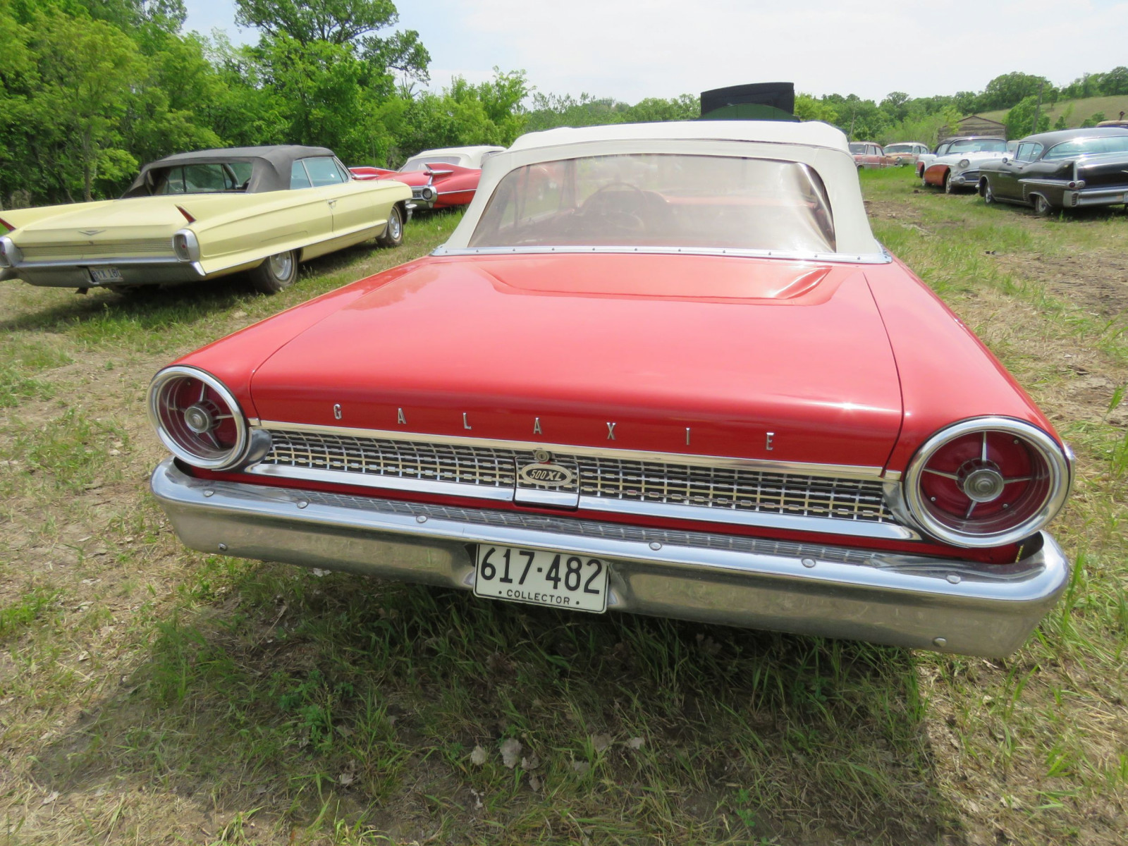 1963 Ford Galaxie 500XL Convertible 3G69Z183135 - Image 6