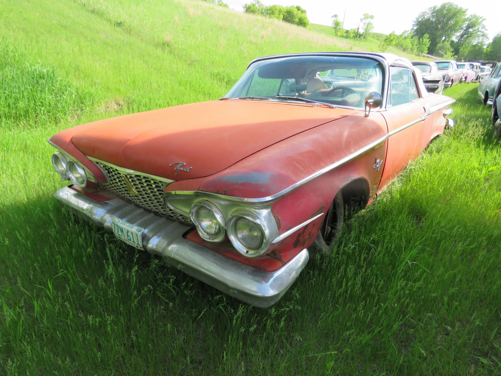 1961 Plymouth Fury Convertible 3311143965 - Image 1