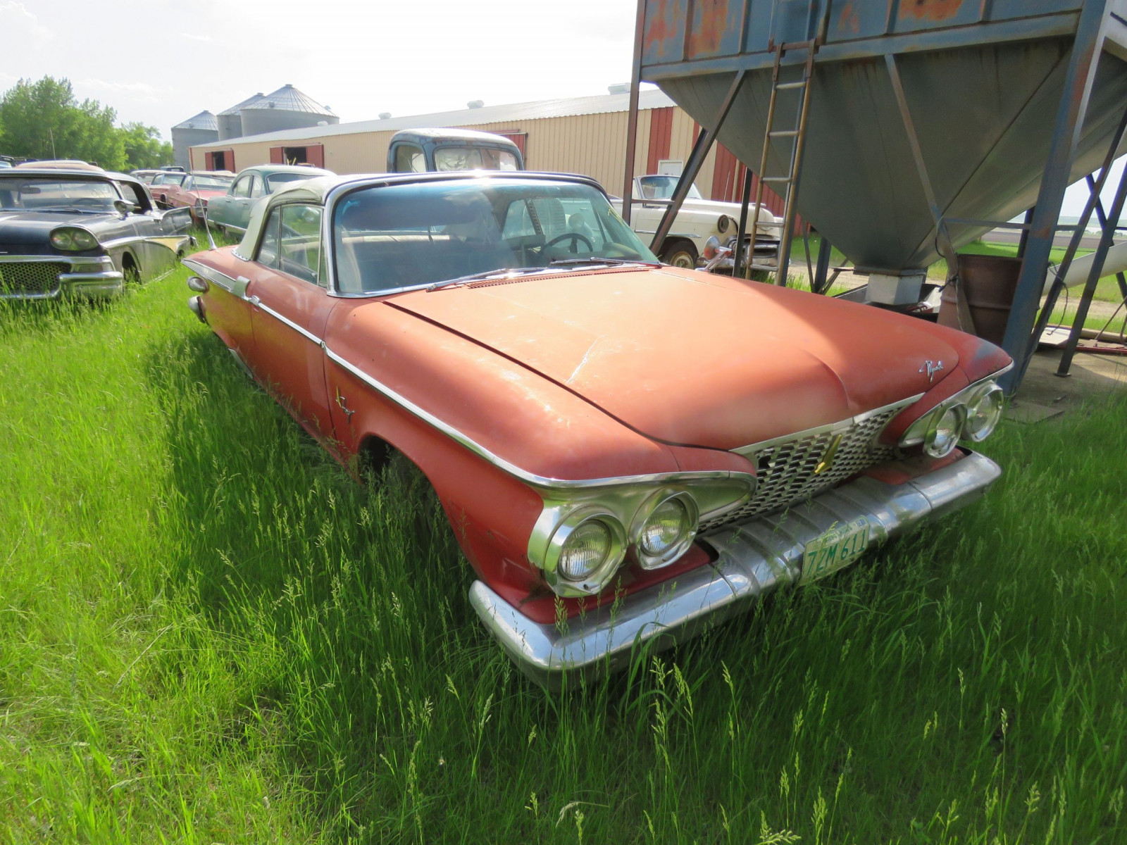 1961 Plymouth Fury Convertible 3311143965 - Image 3