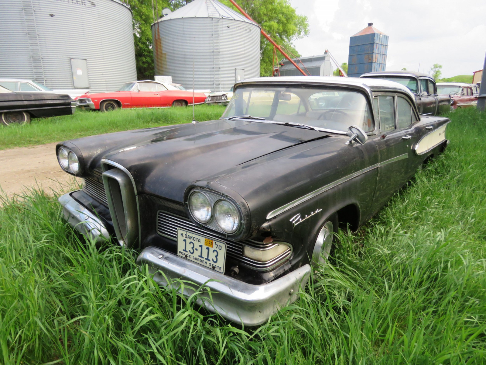 Ford Transmission Settlement >> Lot 92G – 1958 Ford Edsel Pacer 4dr HT W8UF718503   VanderBrink Auctions