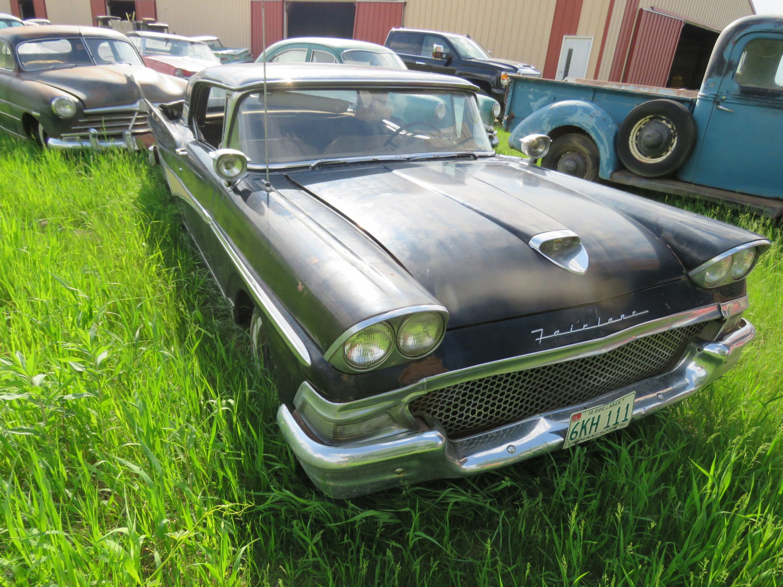 1958 Ford Fairlane 500 Retractable HT H8KW124513 - Image 3