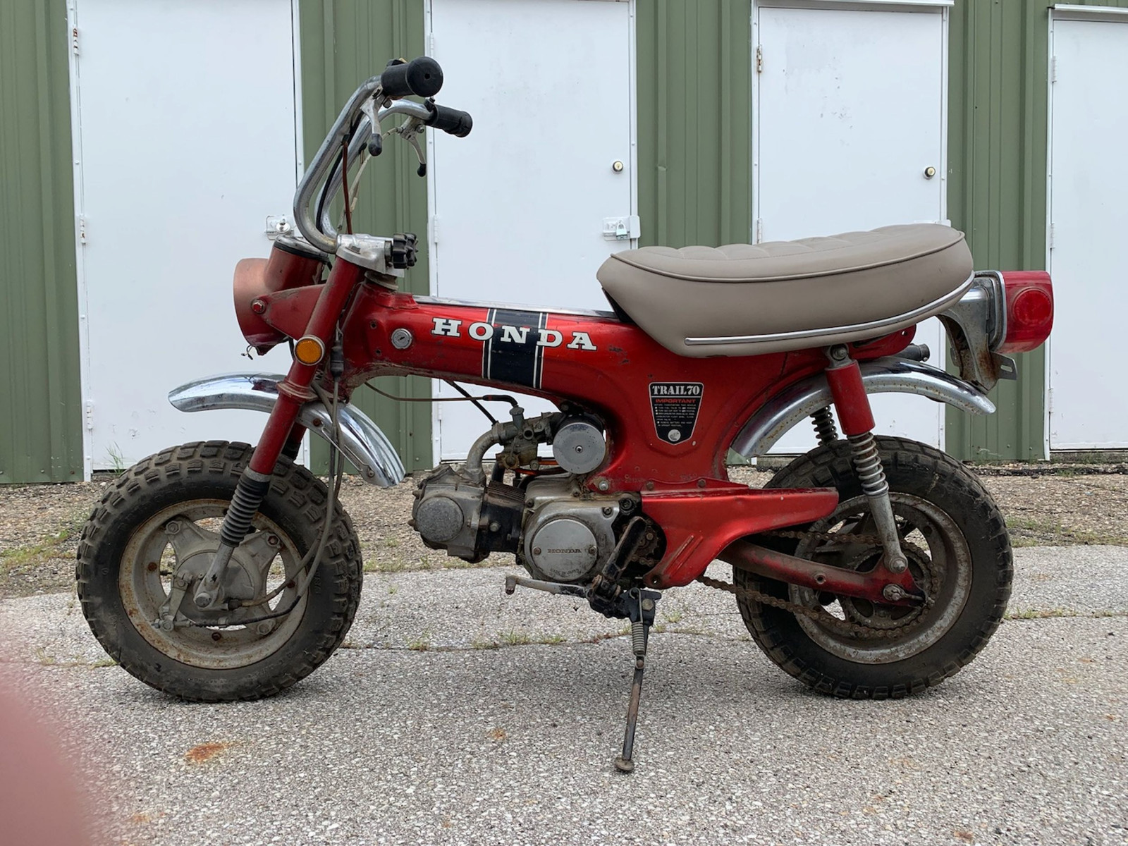 1970 Honda CT70 Motorcycle - Image 1