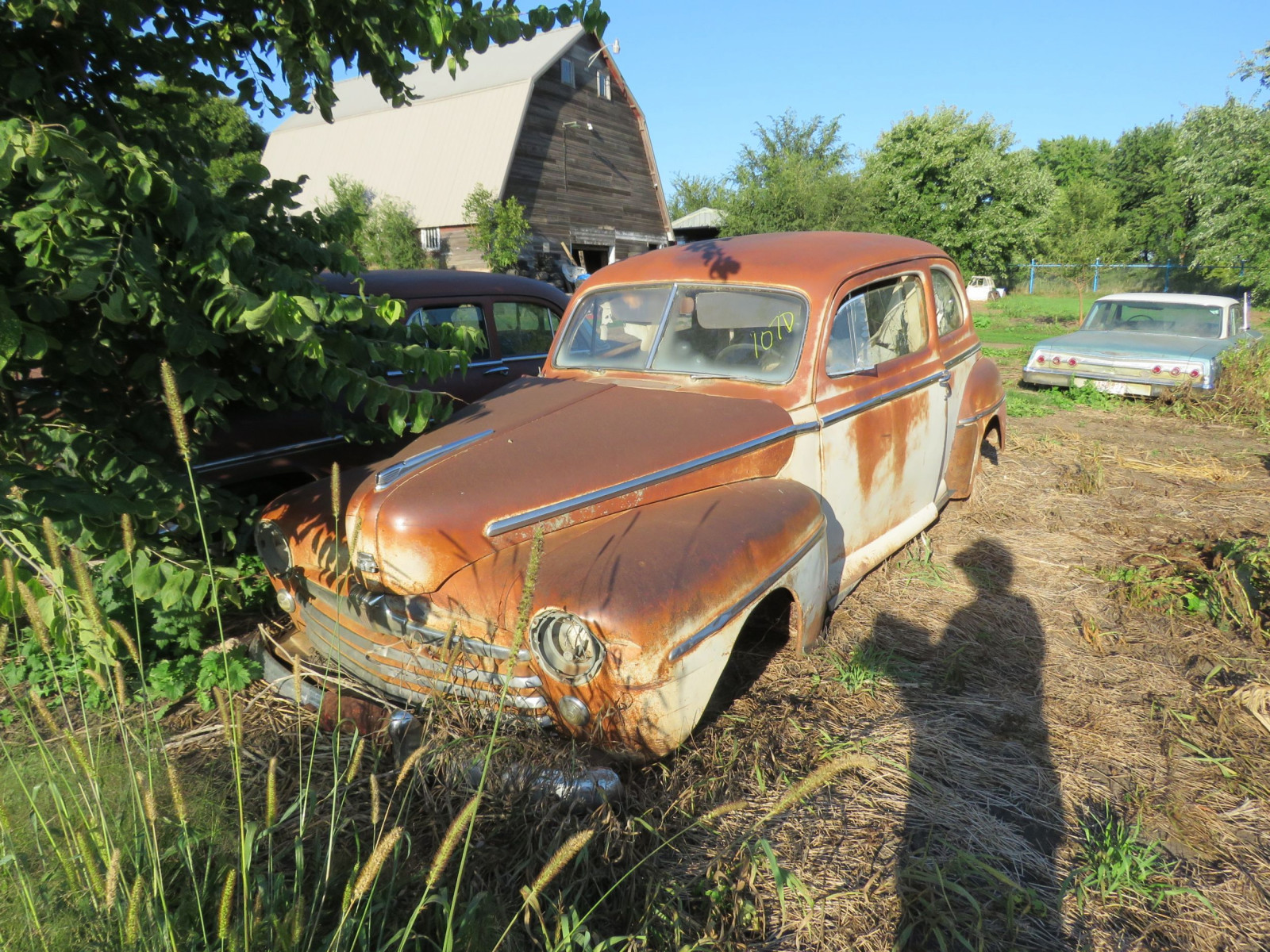 1947/8 Ford 2dr Sedan for Project or Parts - Image 1