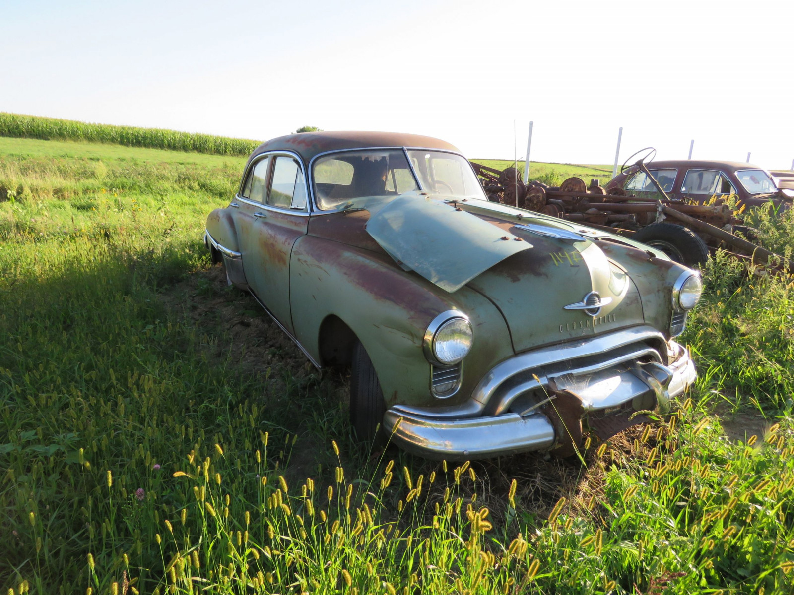 1949 Oldsmobile 4dr Sedan for Project or Parts - Image 1