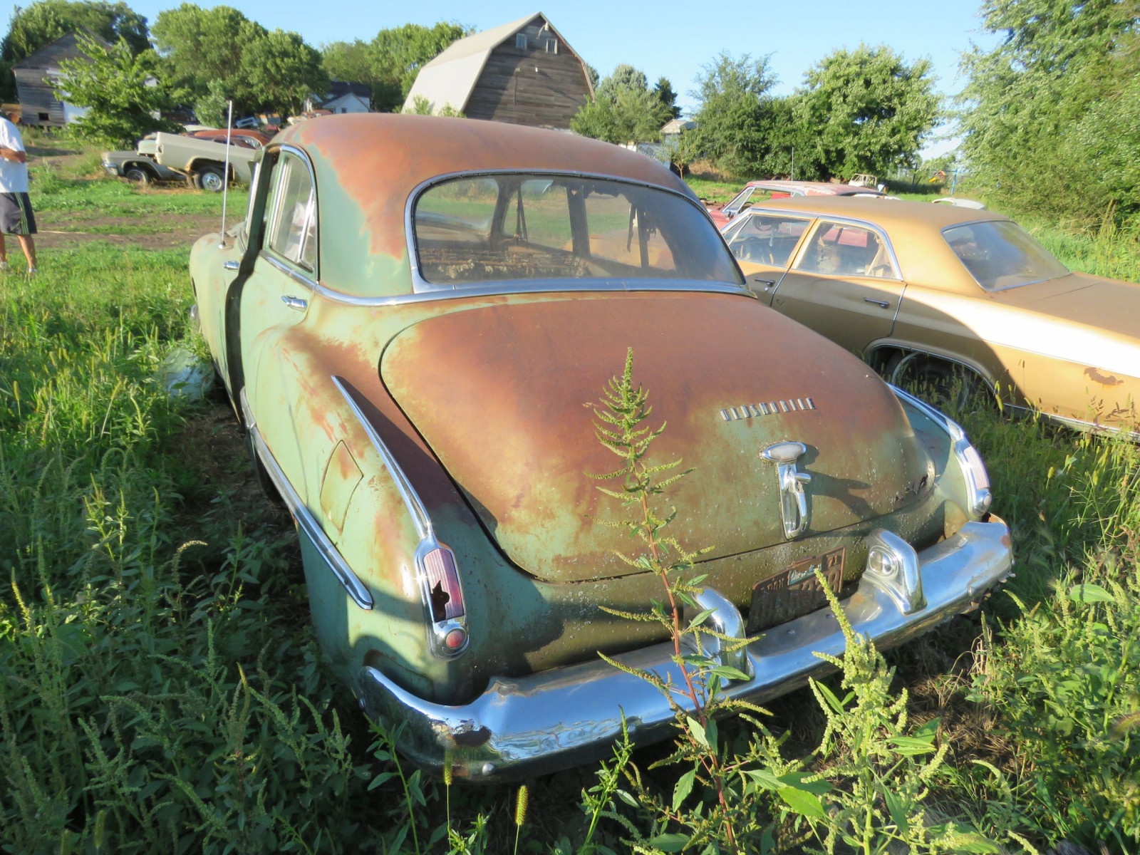 1949 Oldsmobile 4dr Sedan for Project or Parts - Image 3