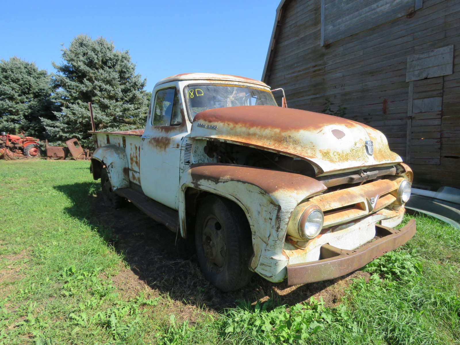 1955 Ford F350 1 ton Pickup for Rod or Restore - Image 1