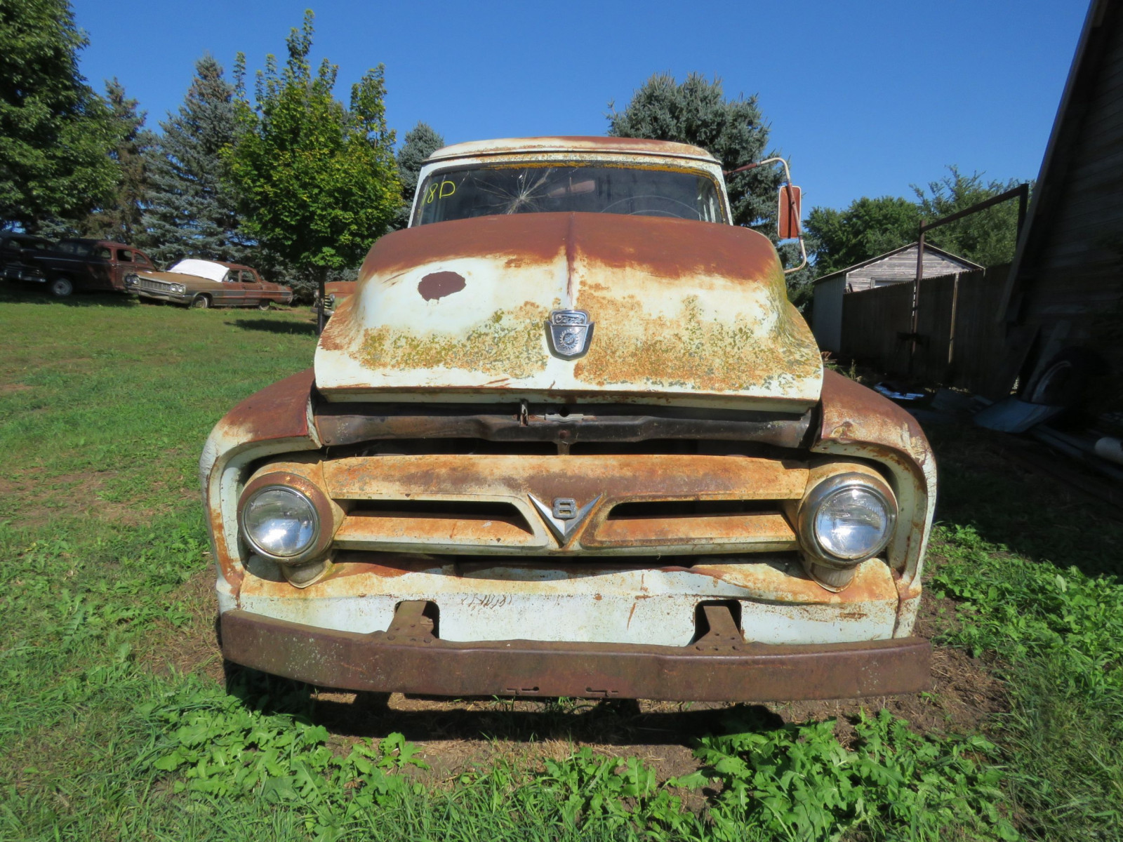 1955 Ford F350 1 ton Pickup for Rod or Restore - Image 2