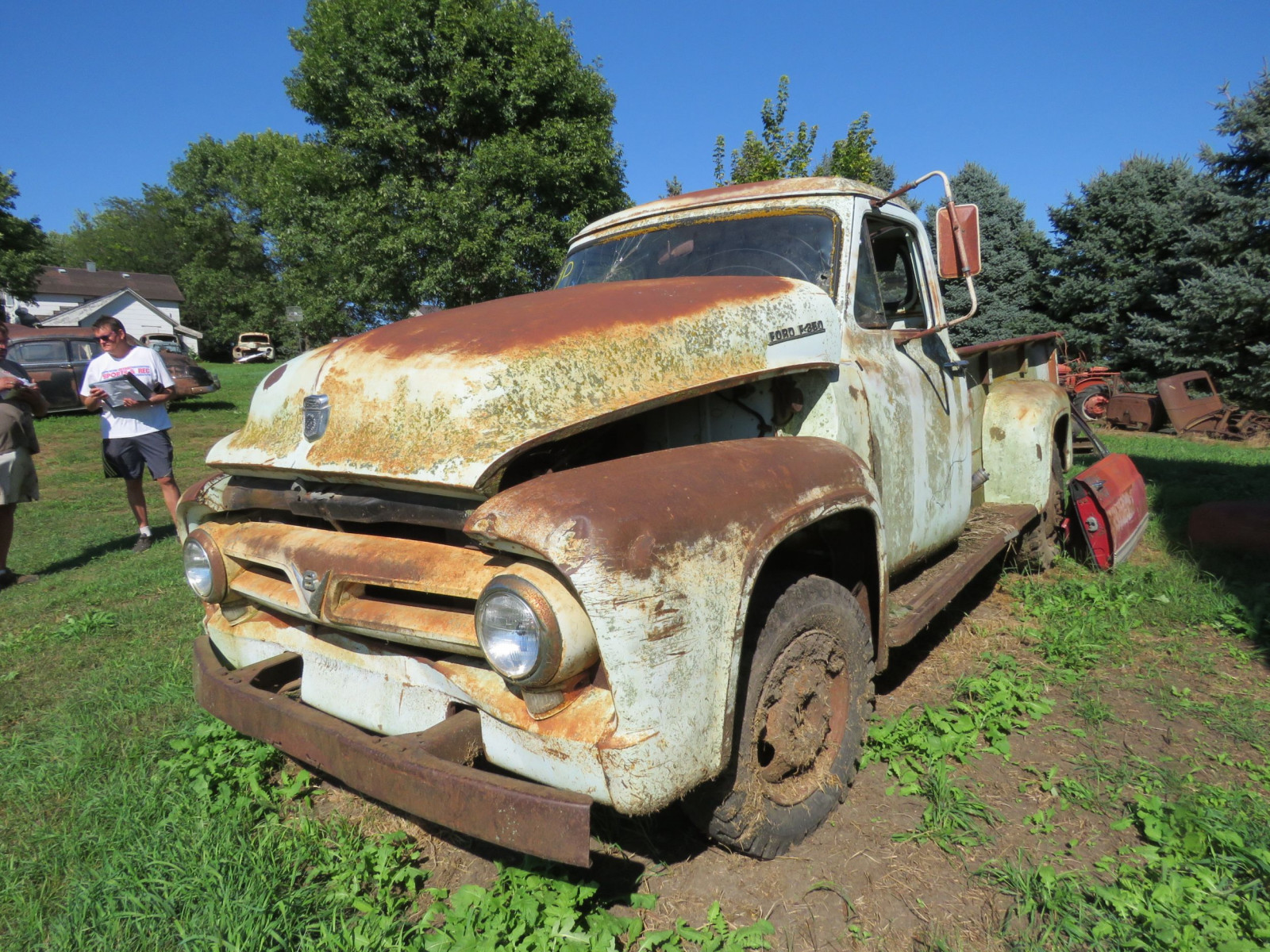 1955 Ford F350 1 ton Pickup for Rod or Restore - Image 3