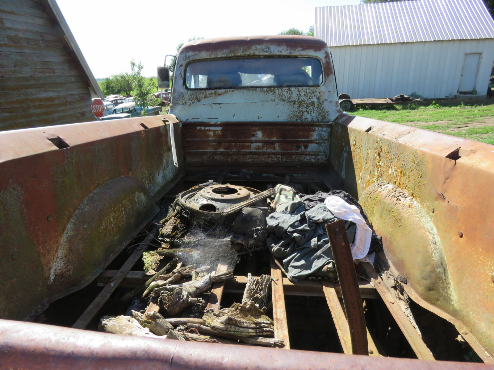 1955 Ford F350 1 ton Pickup for Rod or Restore - Image 6