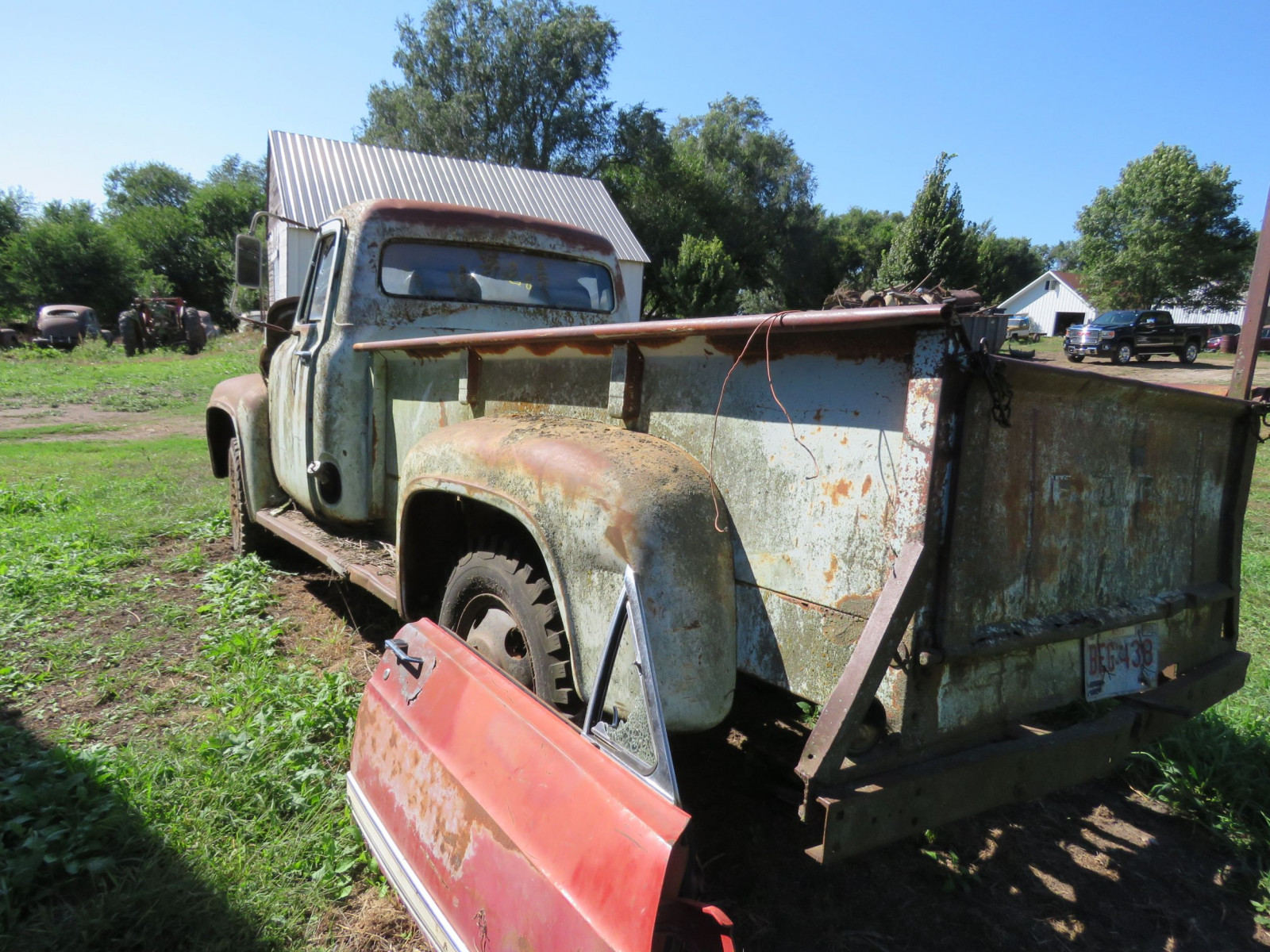 1955 Ford F350 1 ton Pickup for Rod or Restore - Image 7