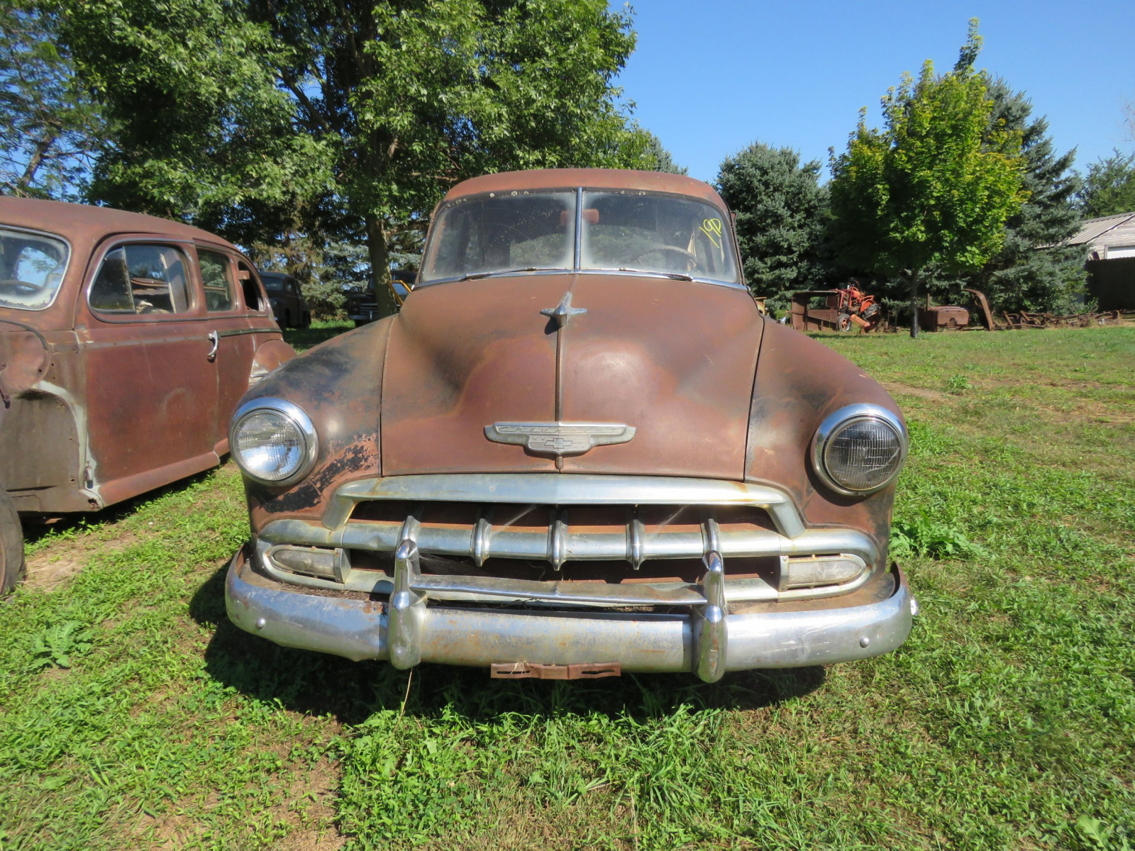 1952 Chevrolet 2dr Sedan for Project or Parts - Image 2