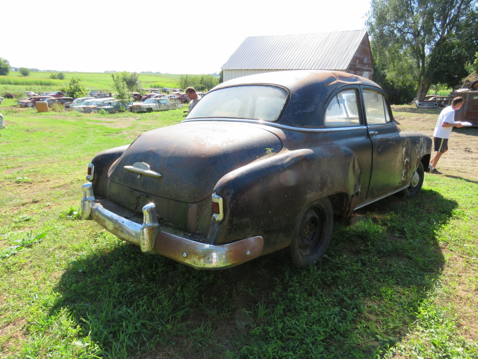 1952 Chevrolet 2dr Sedan for Project or Parts - Image 5