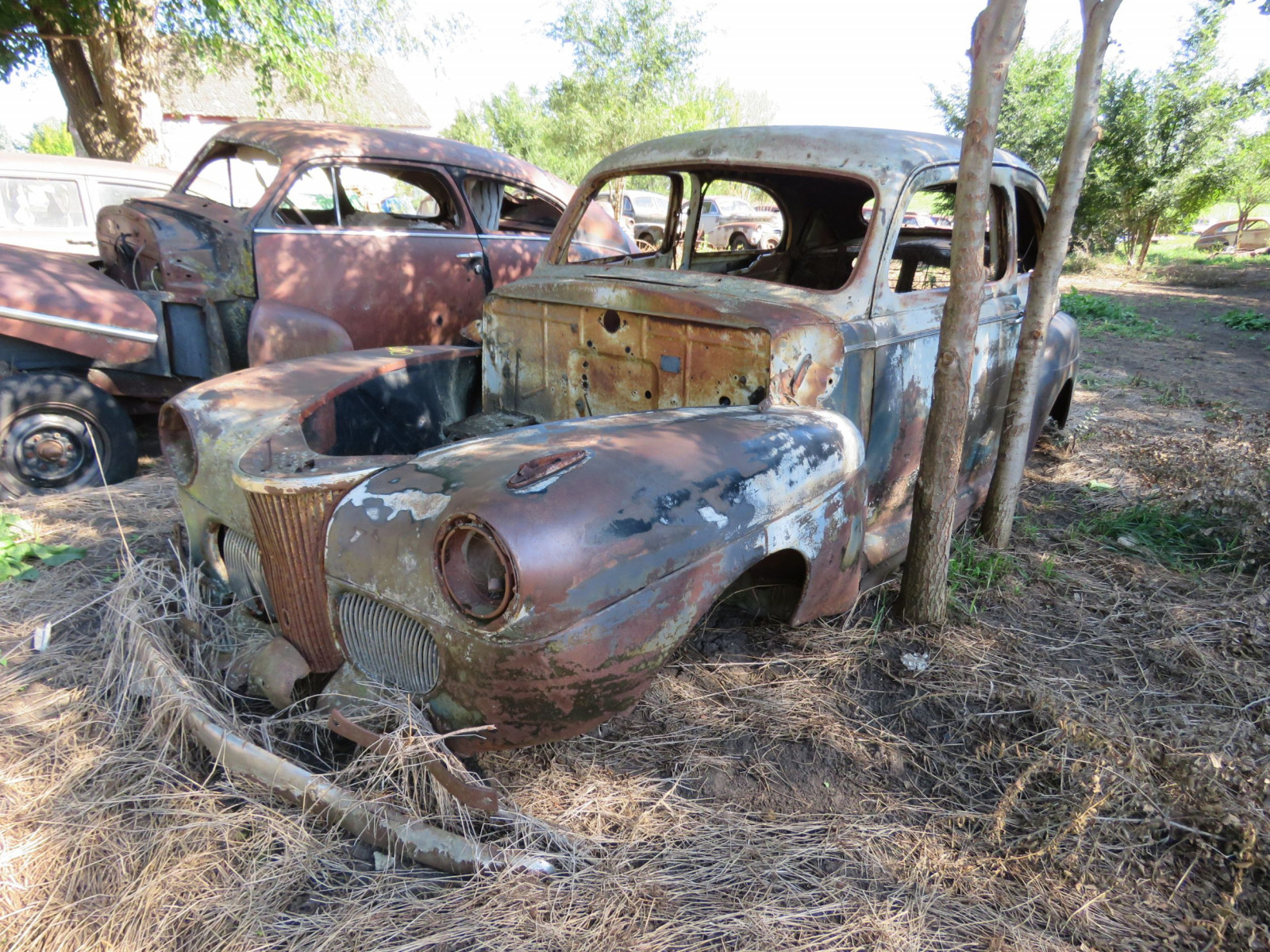 1941 Ford 2dr Sedan Body for Project or Parts - Image 2