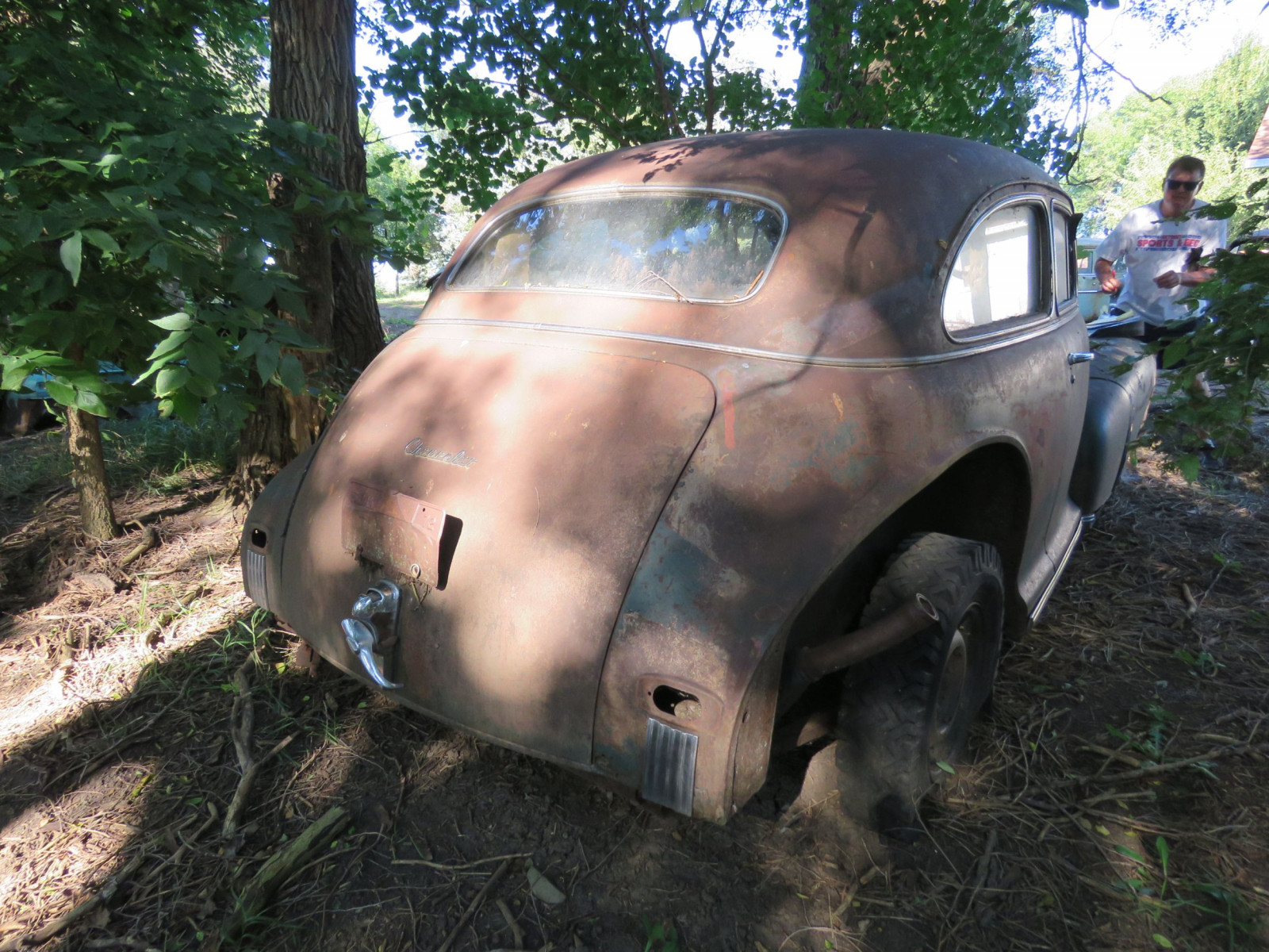 1947 Chevrolet 2dr Sedan for project or parts - Image 3