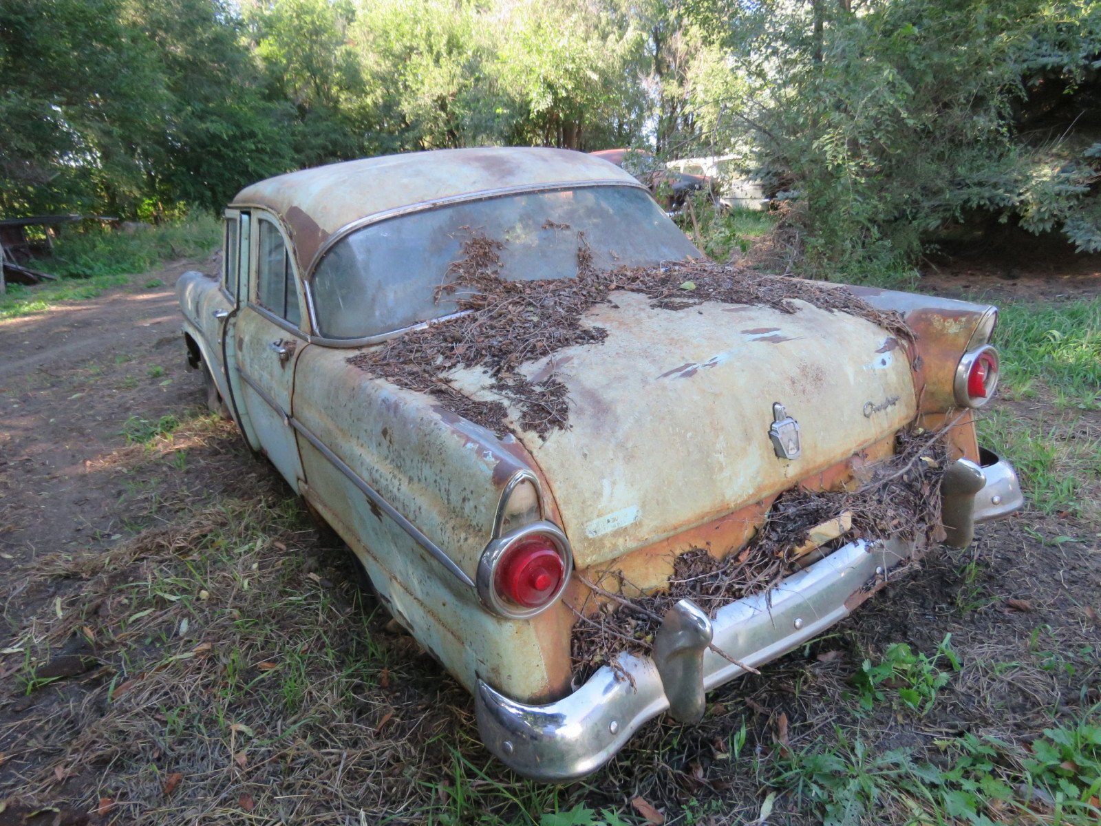 1955 Ford Customline 4dr Sedan for Project or Parts - Image 6