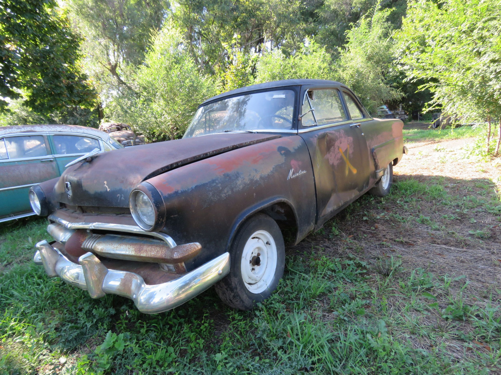 1953 Ford Mainline for Project or Parts - Image 3