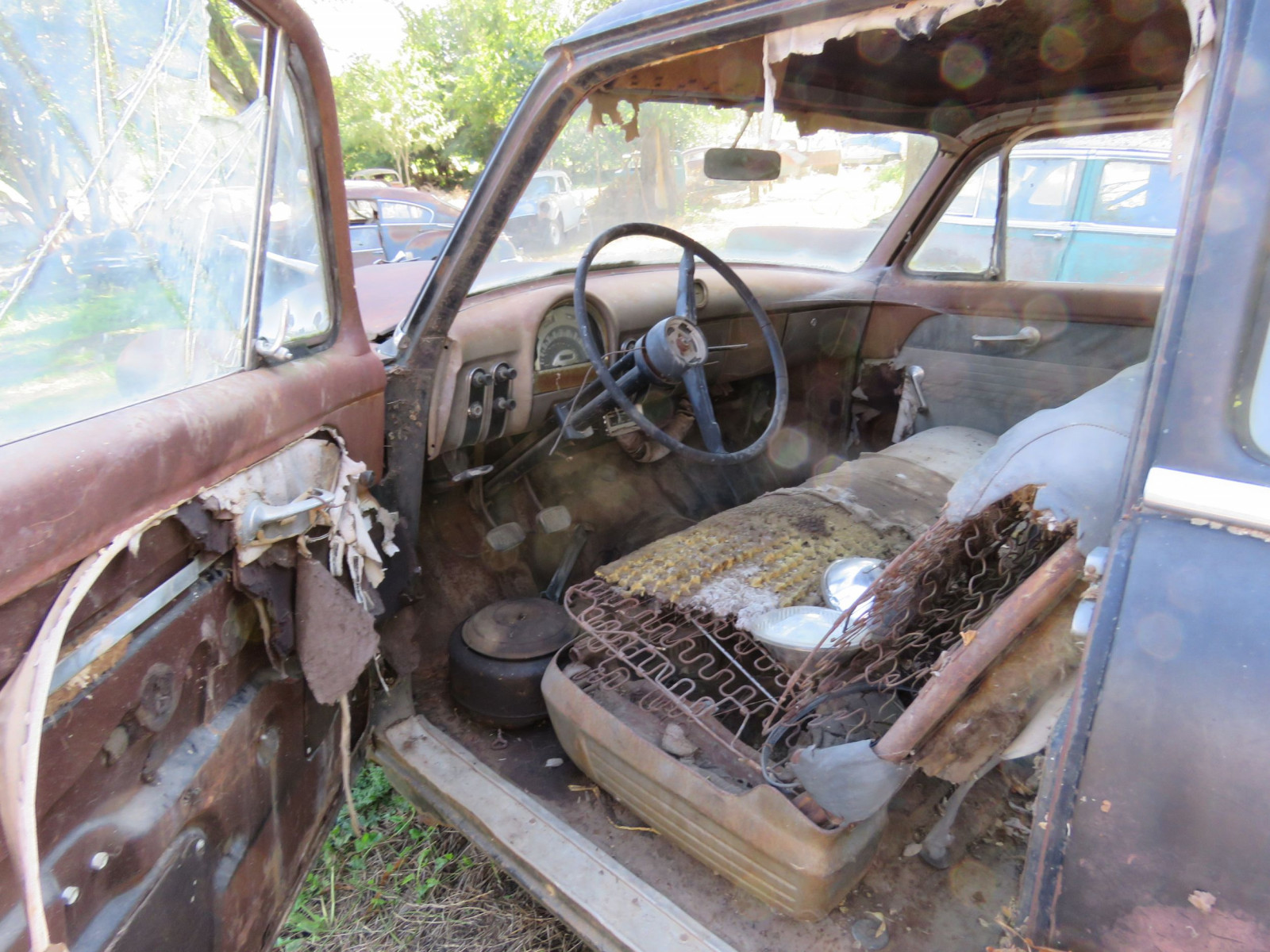 1953 Ford Mainline for Project or Parts - Image 5