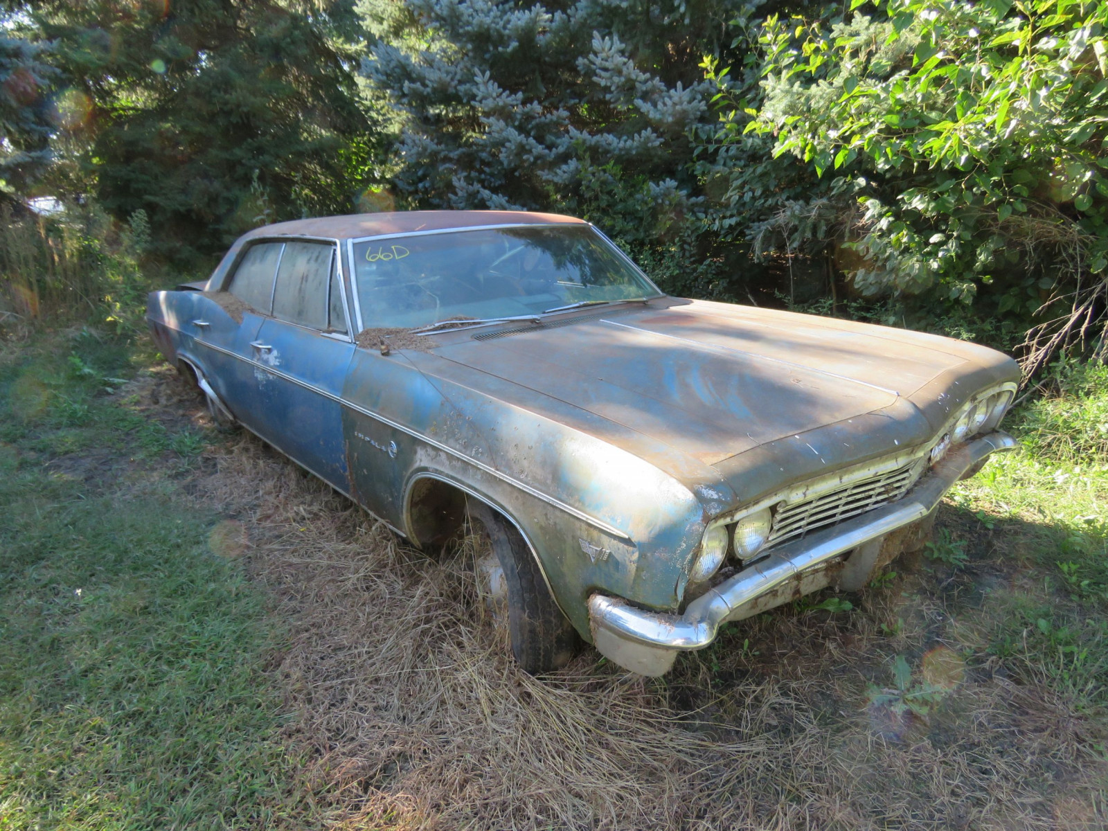 1966 Chevrolet Impala 4dr HT for Project or Parts - Image 1