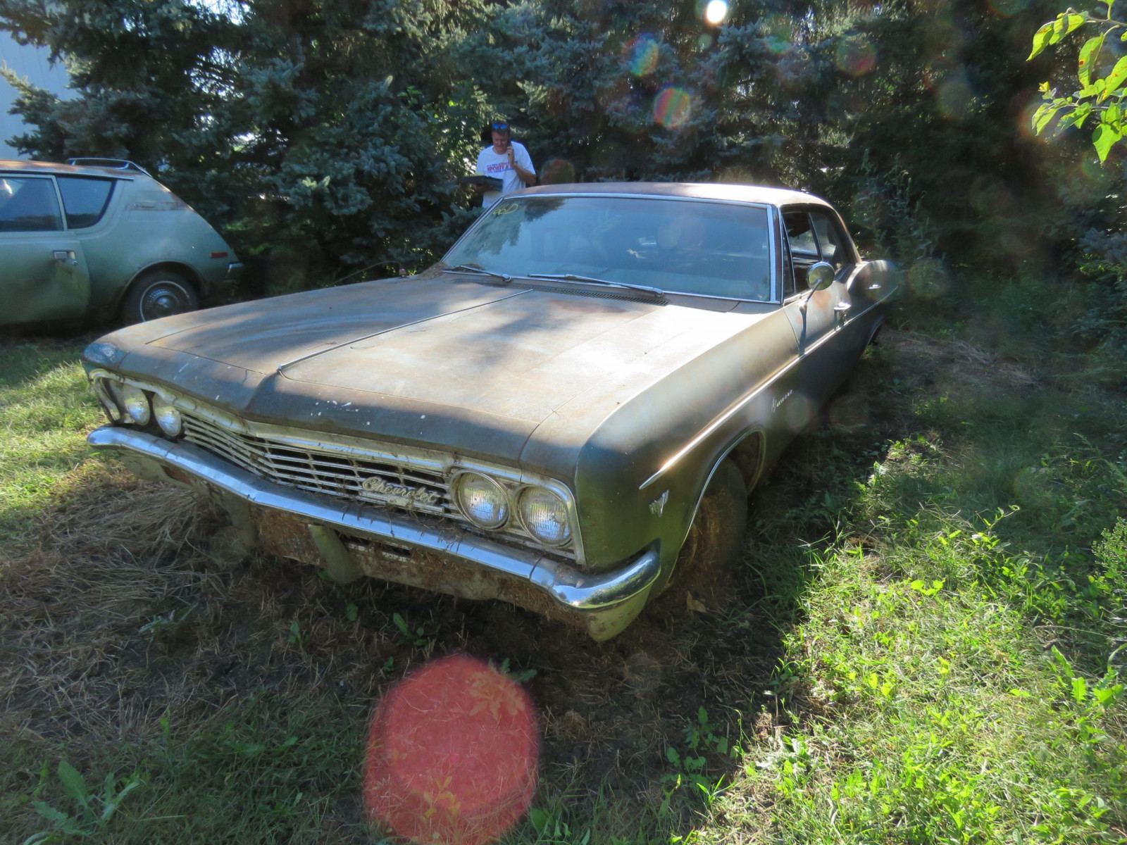 1966 Chevrolet Impala 4dr HT for Project or Parts - Image 2