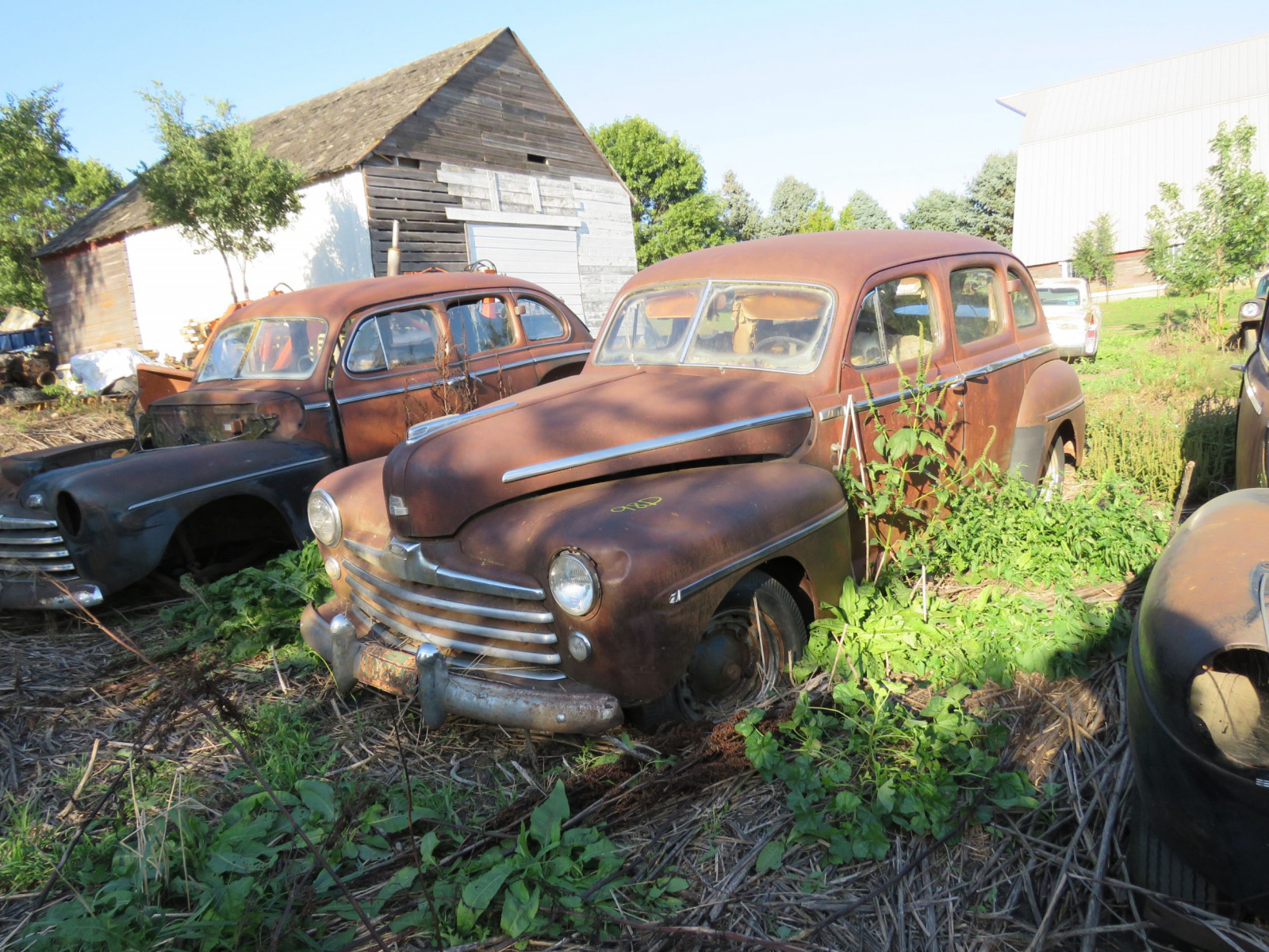 1947/8 Ford 4dr Suicide Sedan for Project or Parts - Image 1