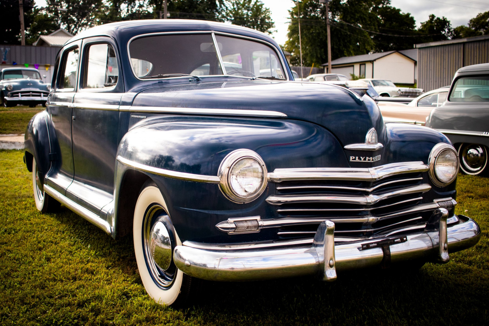 1947 Plymouth Special Deluxe  P15 4dr Sedan - Image 3