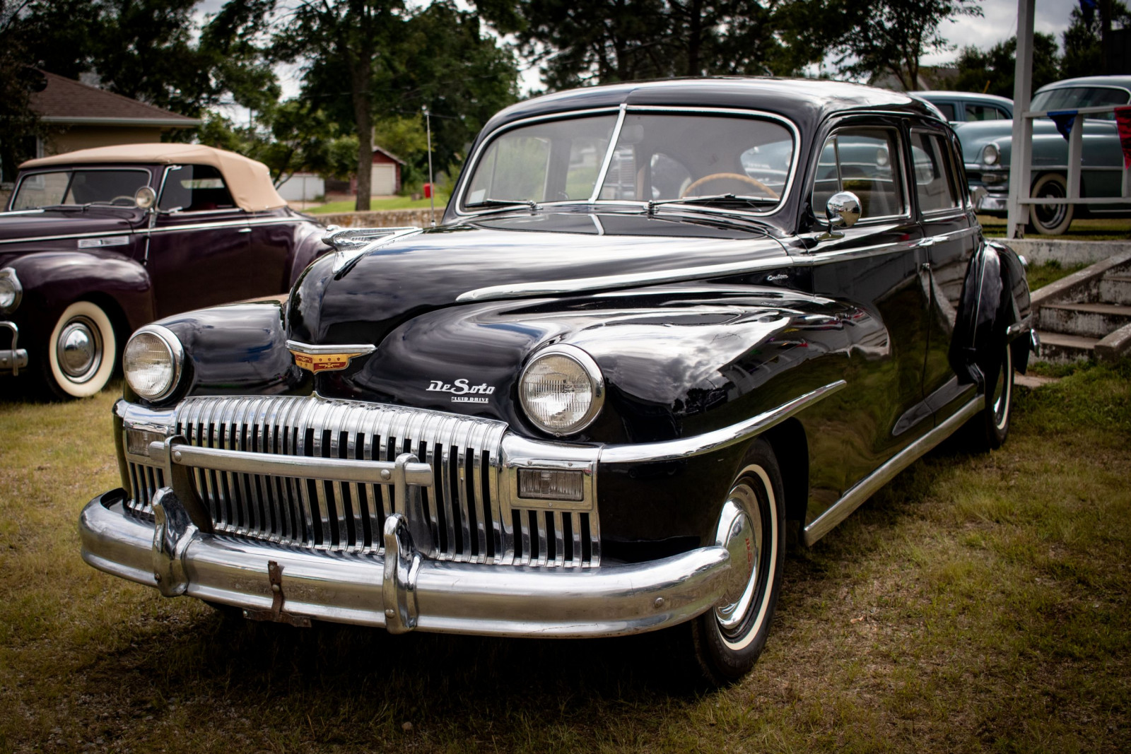 1948 DeSoto Custom 4dr Sedan - Image 1