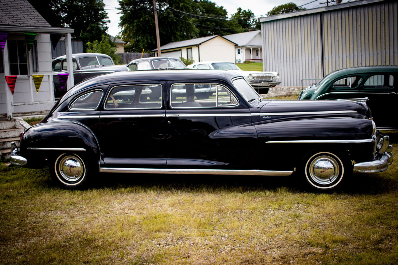 1948 DeSoto Custom 4dr Sedan - Image 4