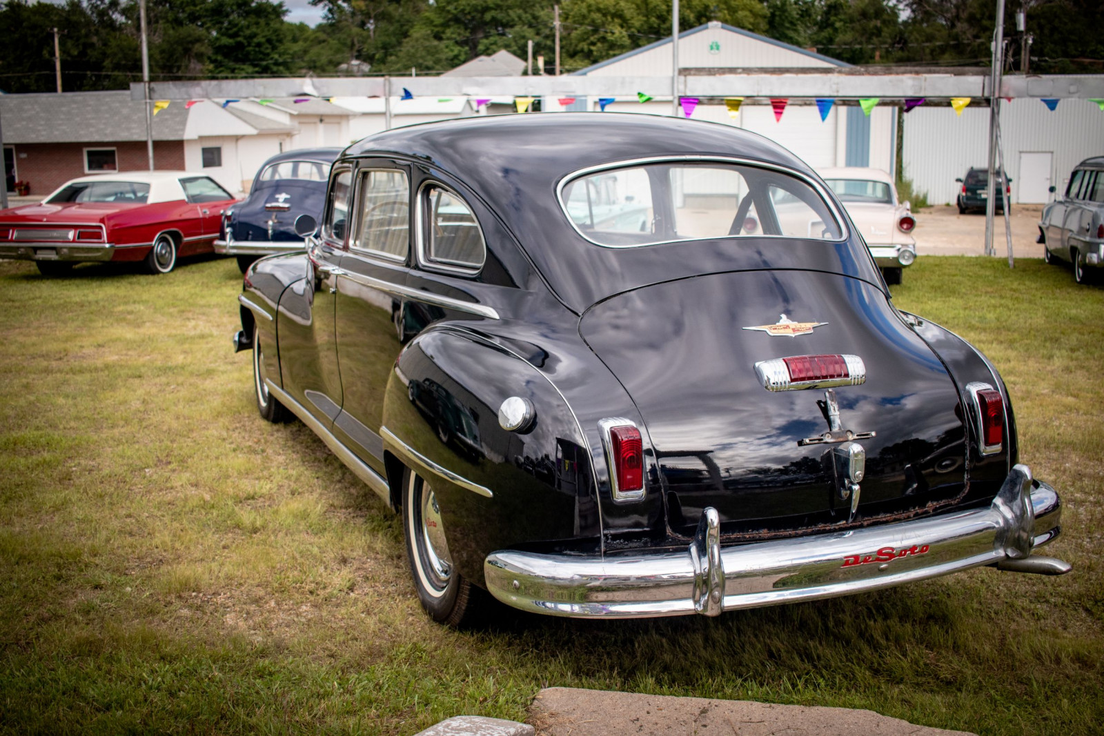 1948 DeSoto Custom 4dr Sedan - Image 7