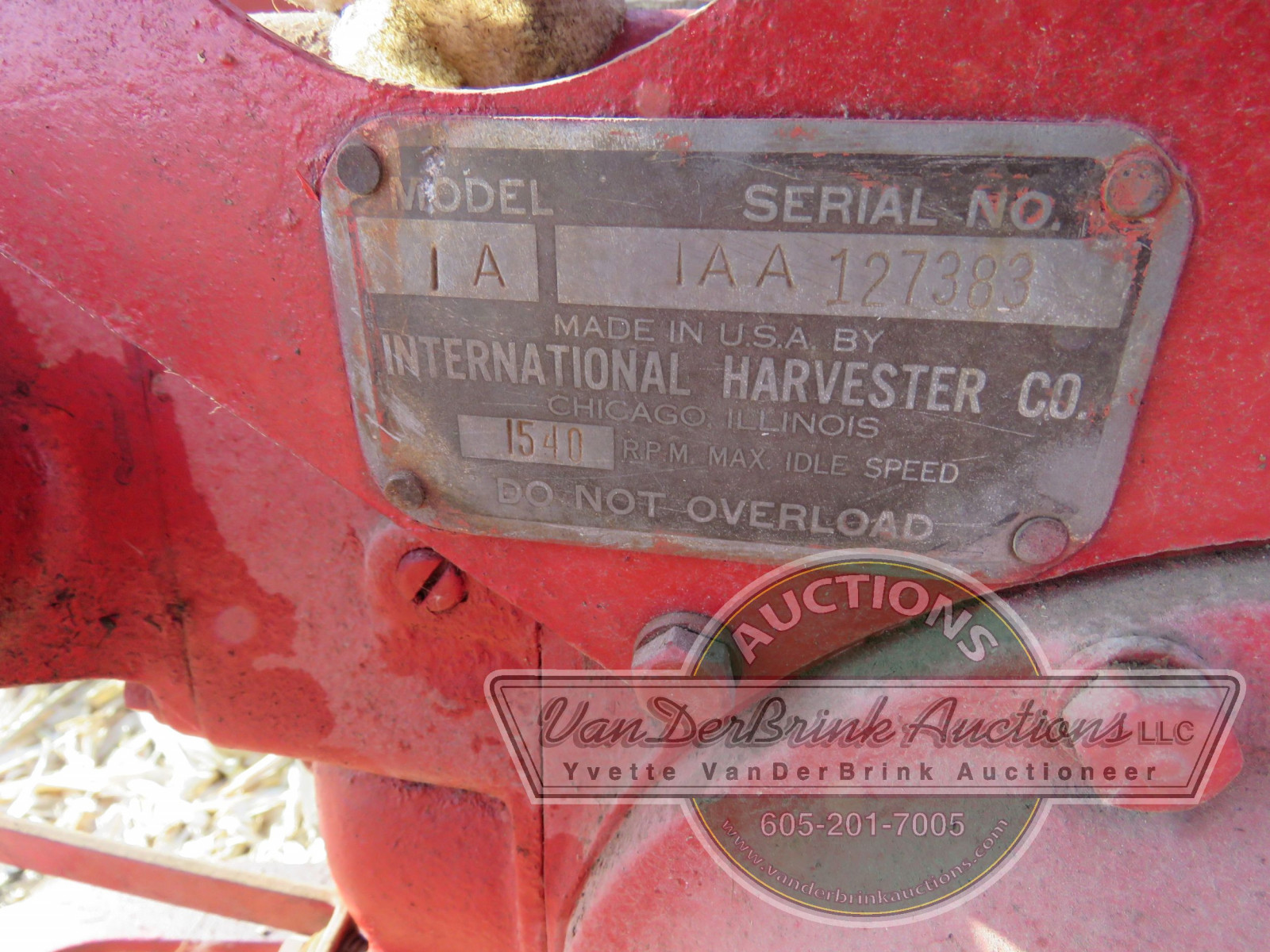 1945 International A Tractor - Image 7