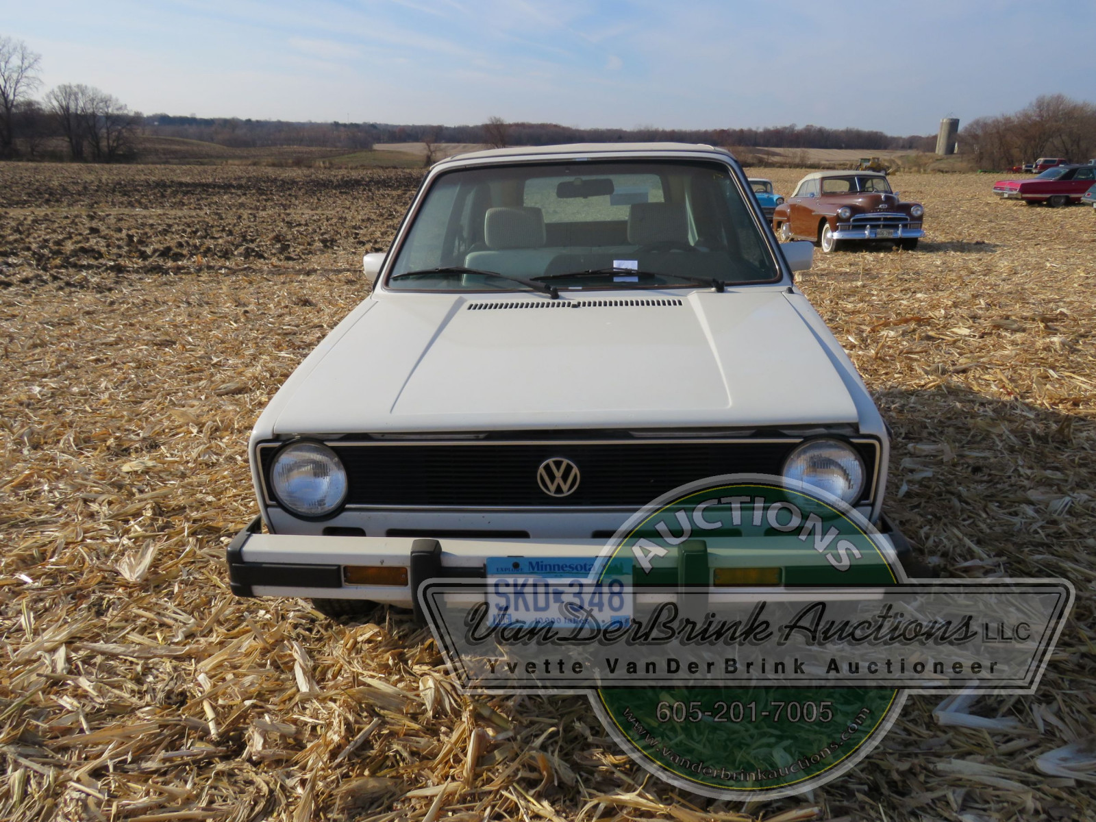 1985 VW Rabbit Karmann Convertible - Image 2