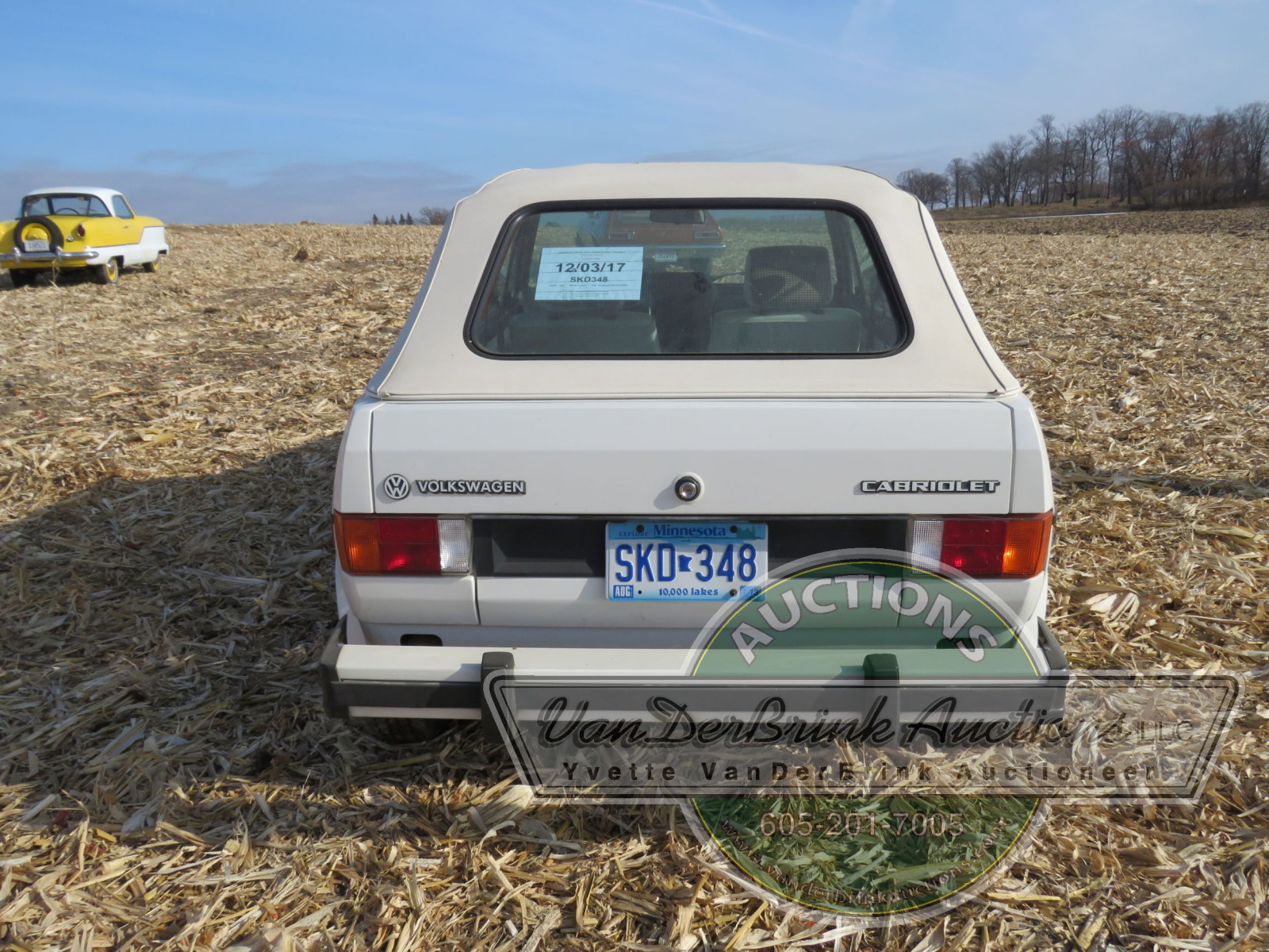 1985 VW Rabbit Karmann Convertible - Image 6