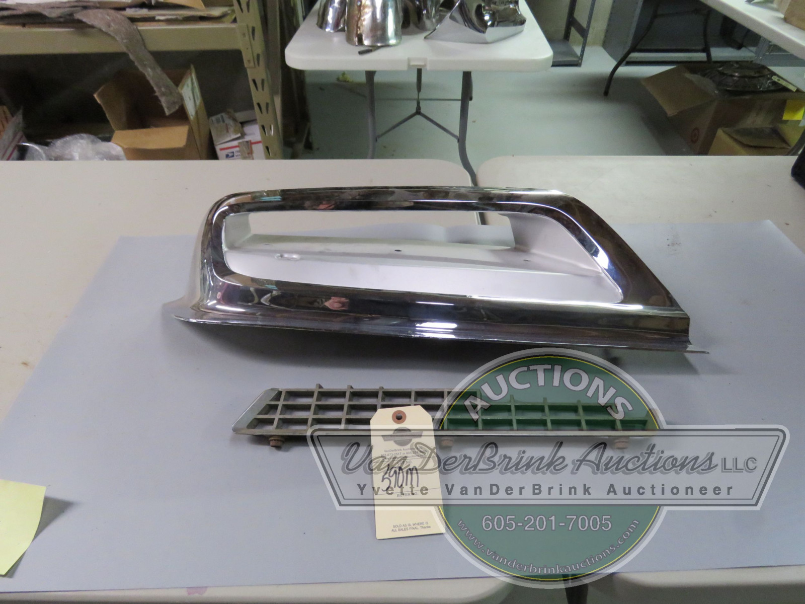 STUDEBAKER GRILL PARTS - Image 1