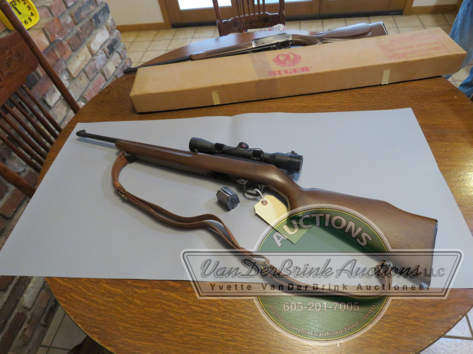 Ruger Model 10/22 .22LR Rifle with Simmons Scope 141361 - Image 5