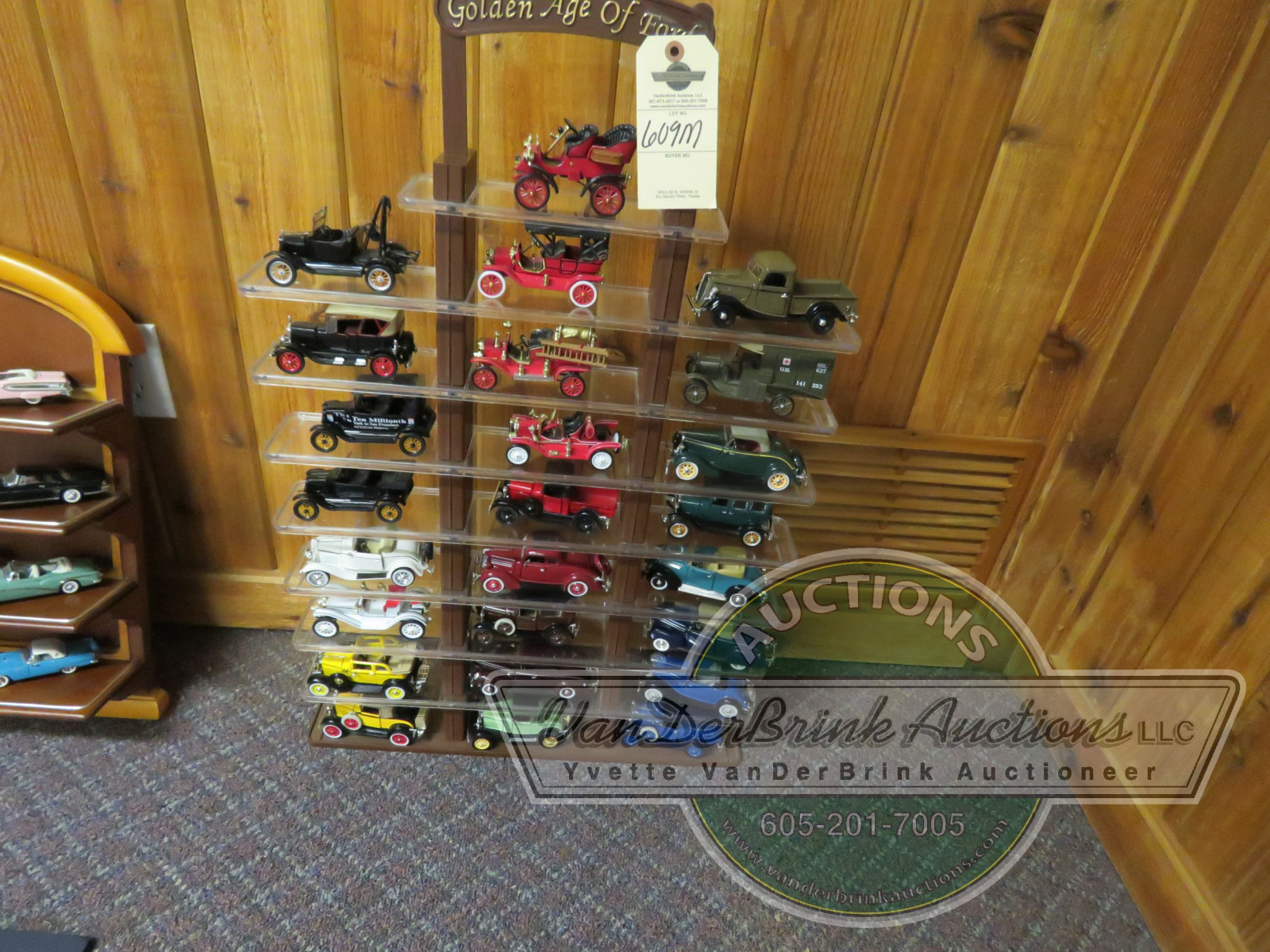 Age of Ford Franklin Mint Display - Image 1