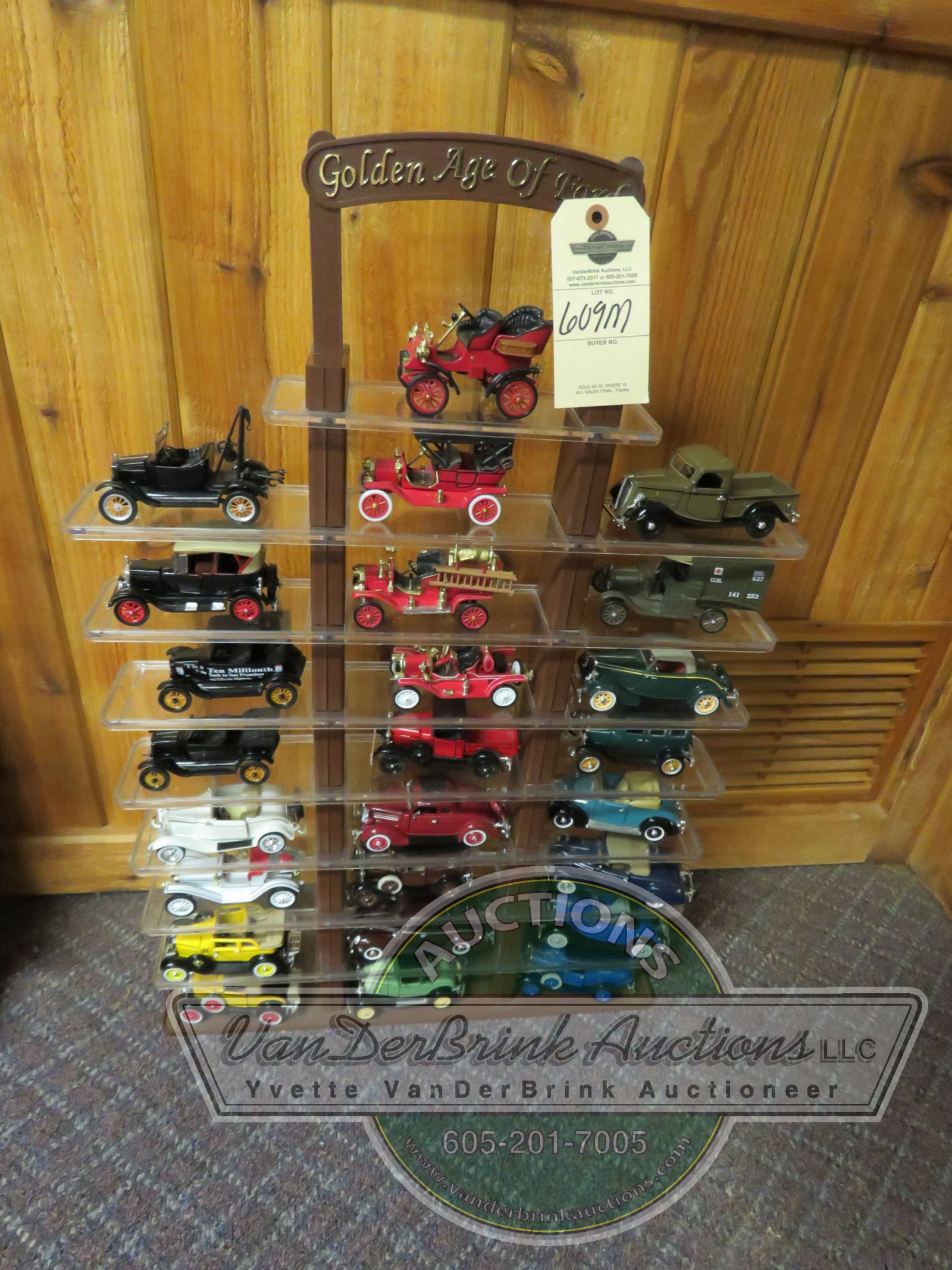 Age of Ford Franklin Mint Display - Image 2